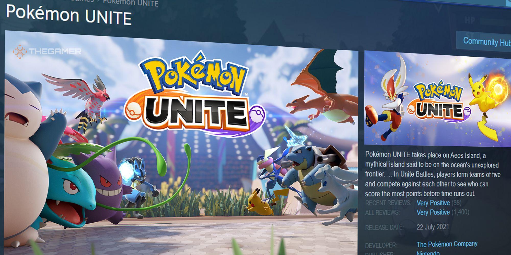 ¿Está Pokemon Unite en PC?