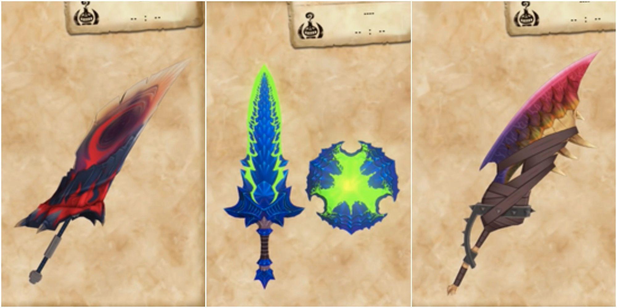 10 mejores armas para cortar daños en Monster Hunter Stories 2: Wings Of Ruin, clasificadas