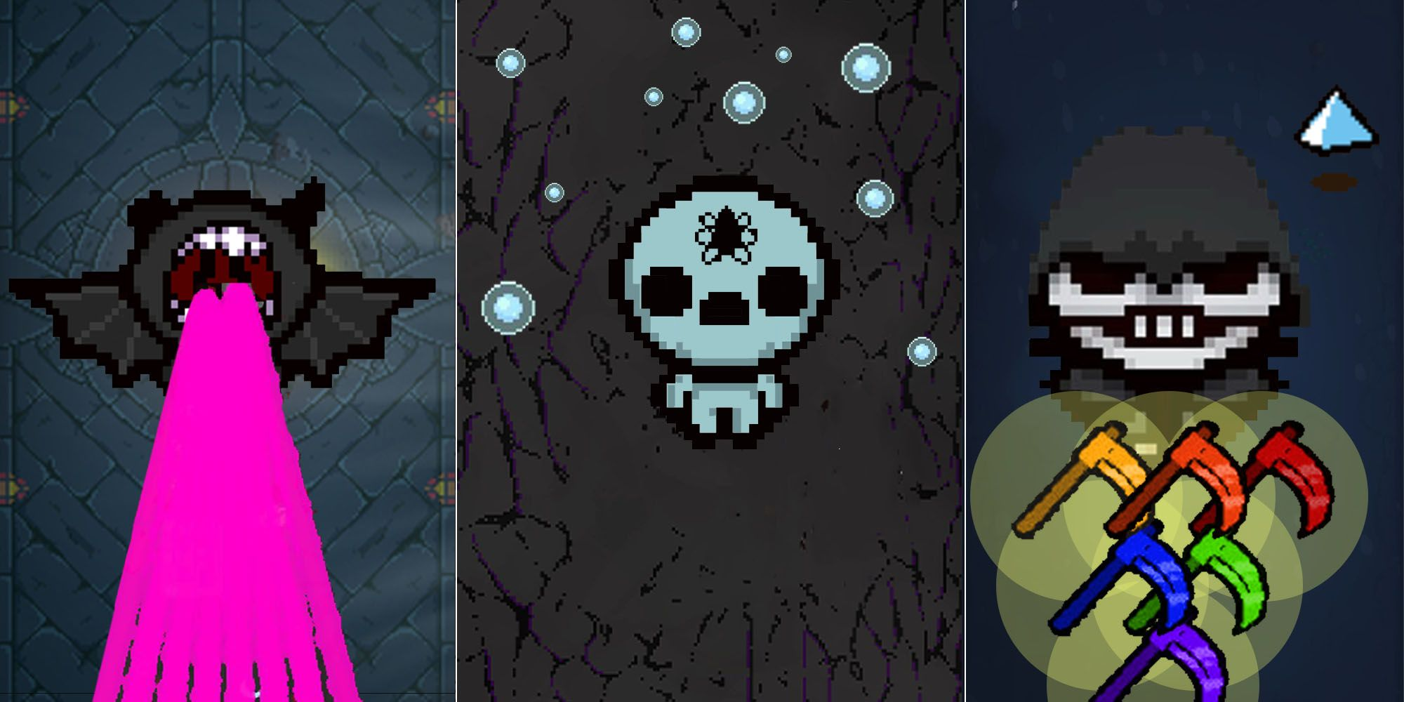 10 sinergias que rompen el juego en The Binding of Isaac