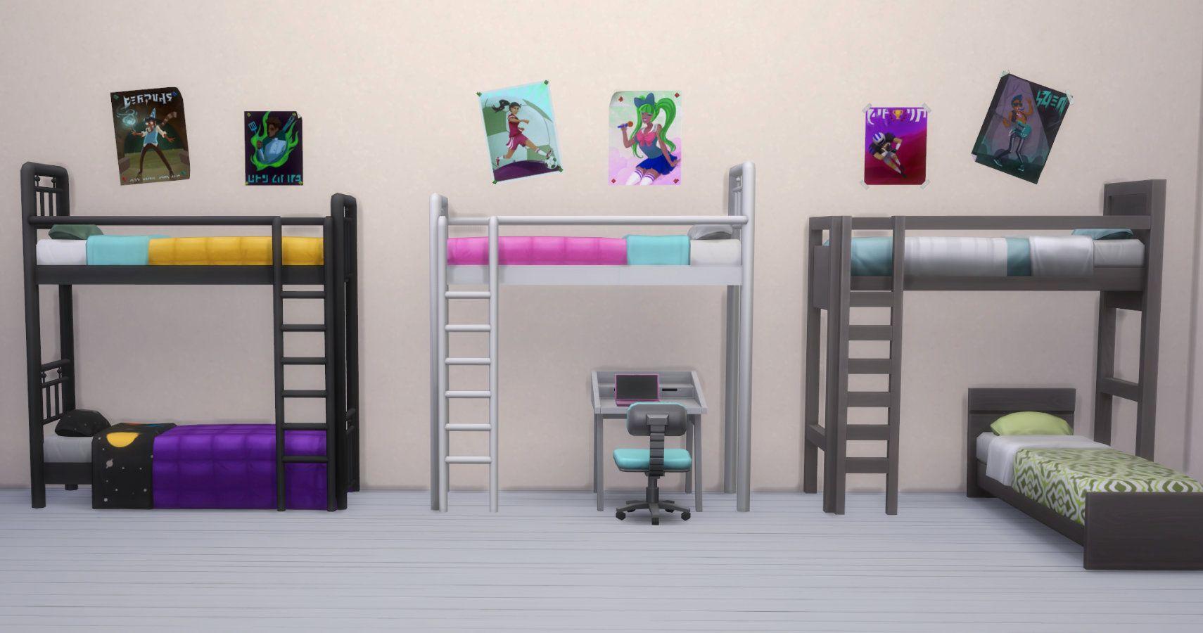 Los Sims 4: todo lo que necesitas saber sobre literas