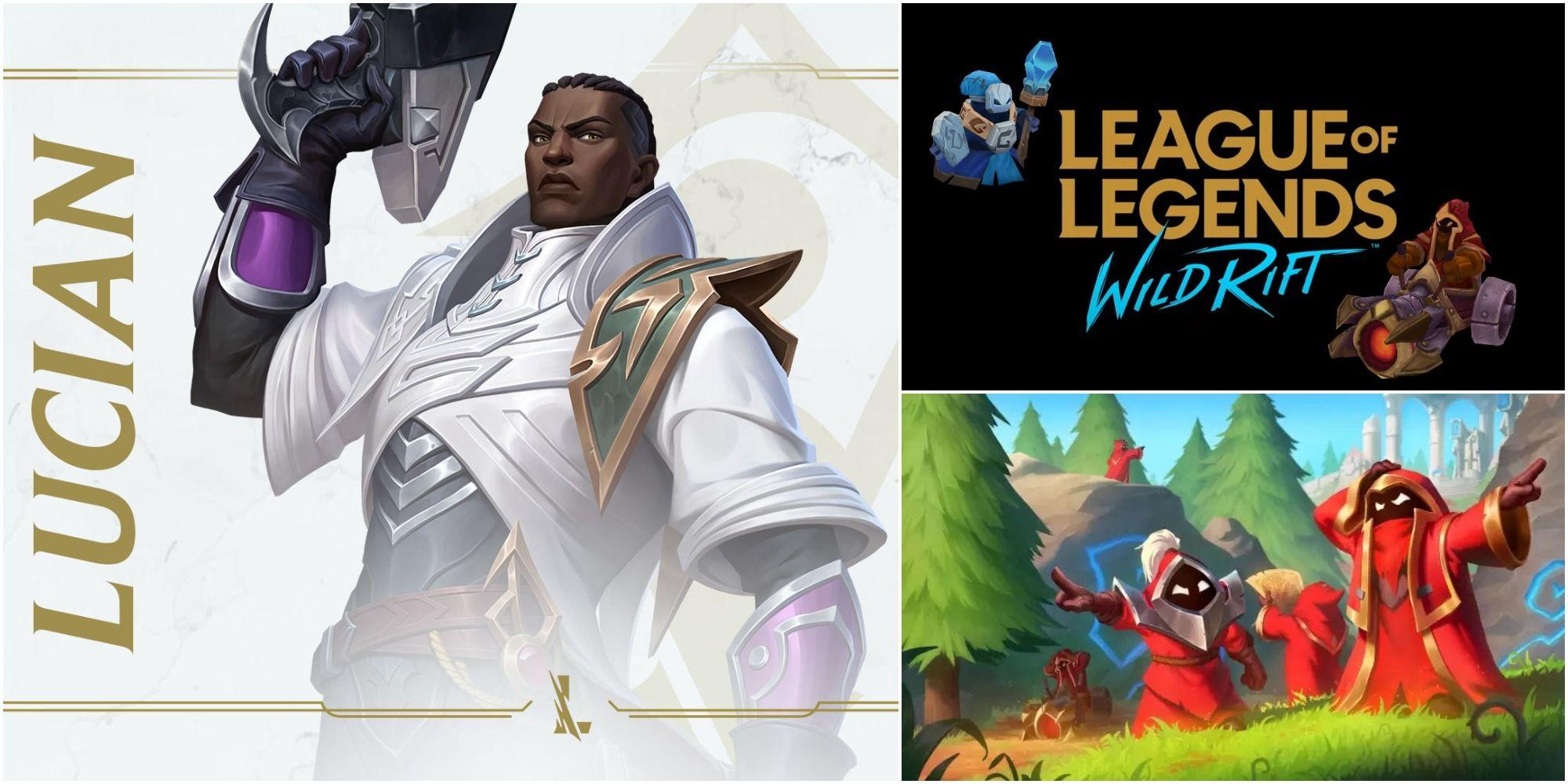 League Of Legends: Wild Rift - Guía de construcción de Lucian