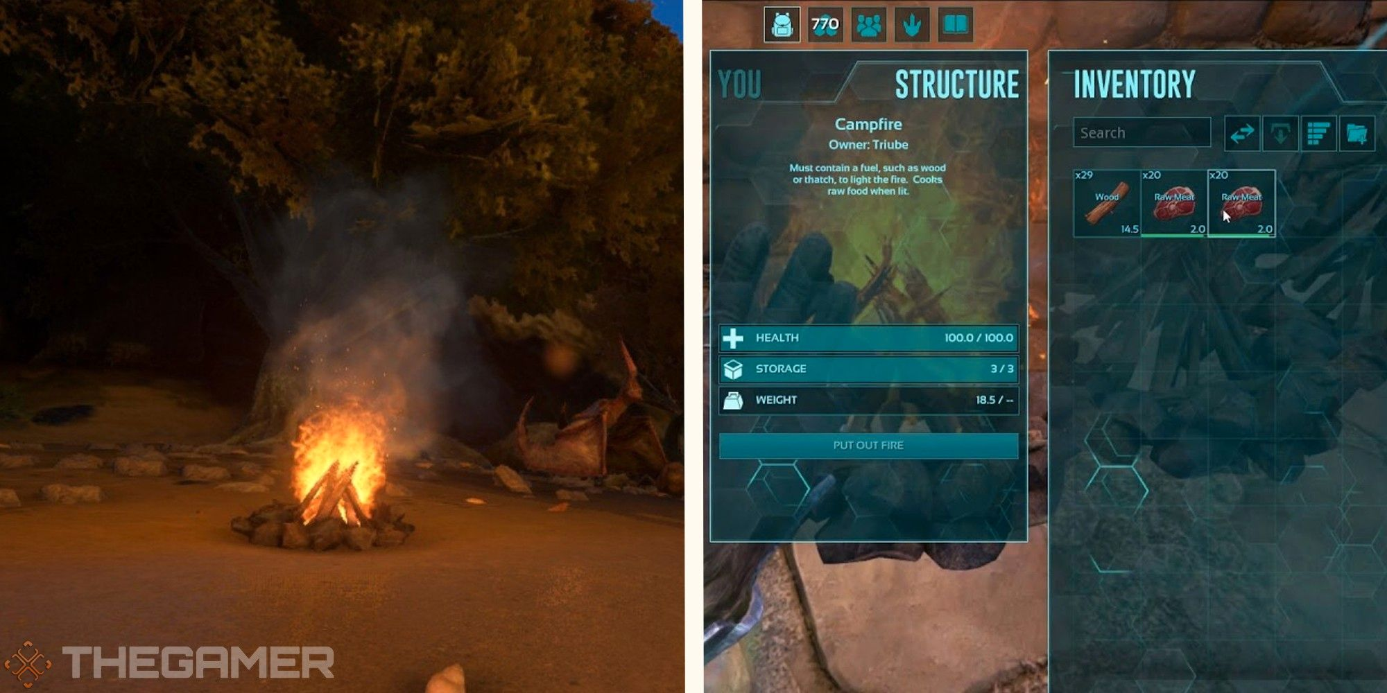 ARK: Survival Evolved - Cómo encender una fogata