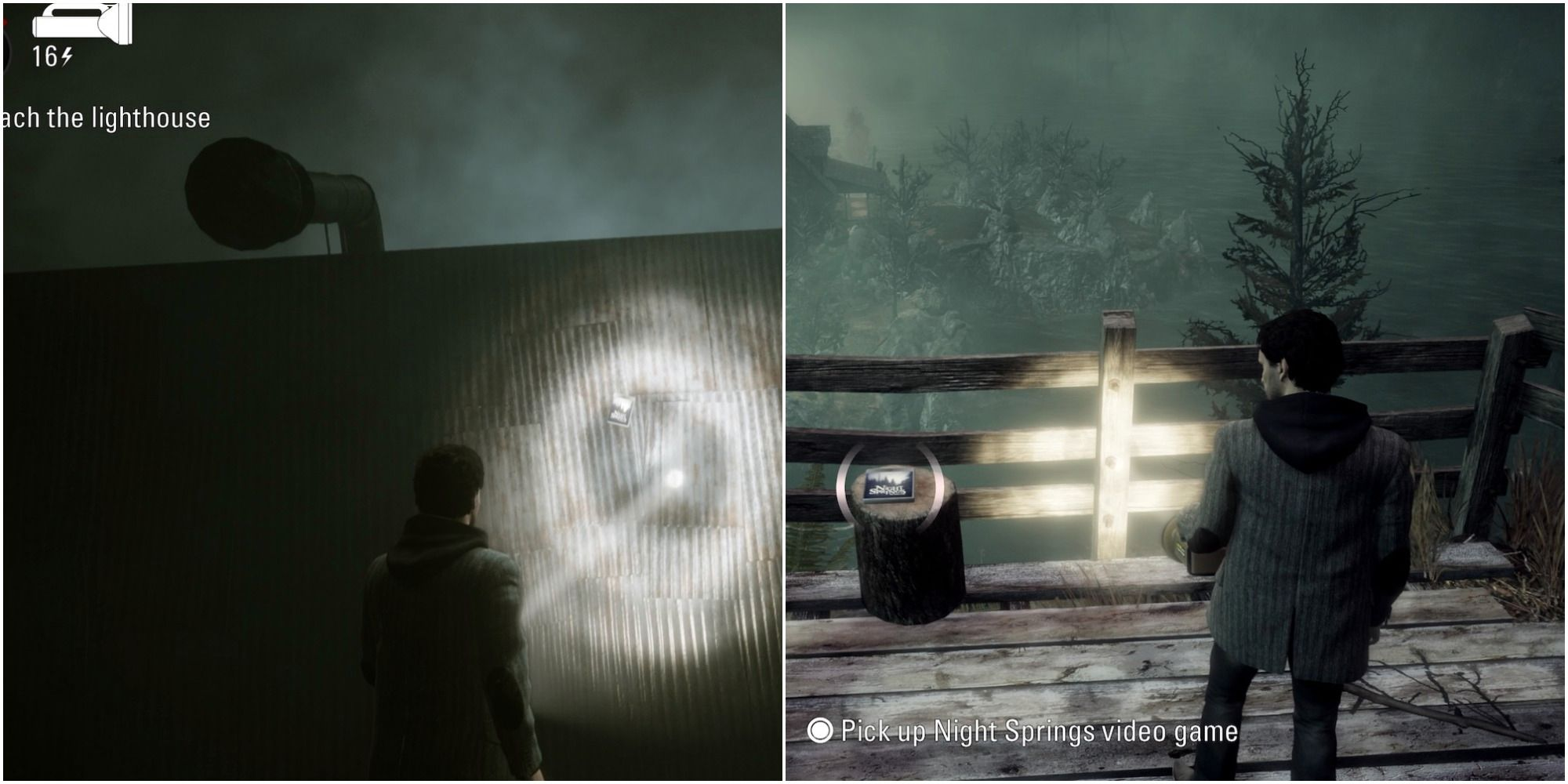 Alan Wake Remastered: All Night Springs Game Locations