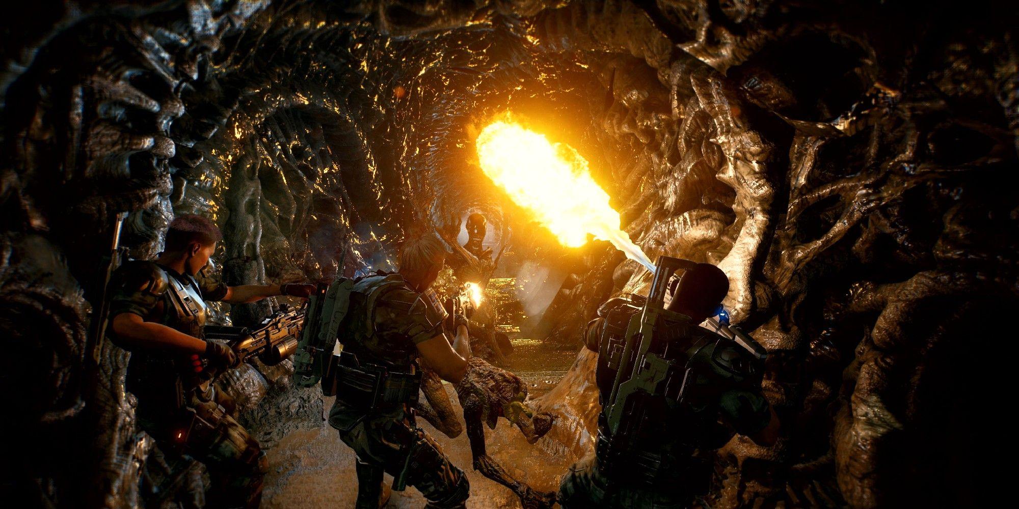 Aliens Fireteam Elite: Explicación de todos los tipos de xenomorfos