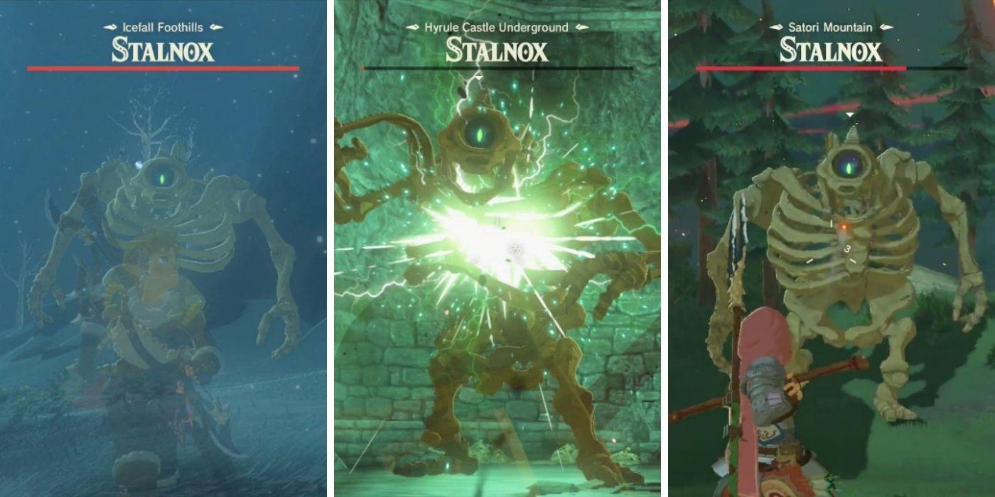 Aliento de lo salvaje: todas las ubicaciones de Stalnox