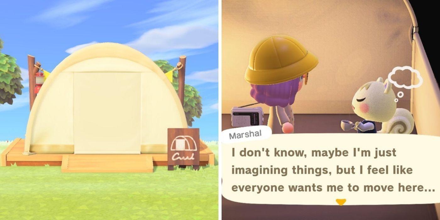 Animal Crossing New Horizons: Reemplazo de aldeanos usando viajes en el tiempo y su campamento