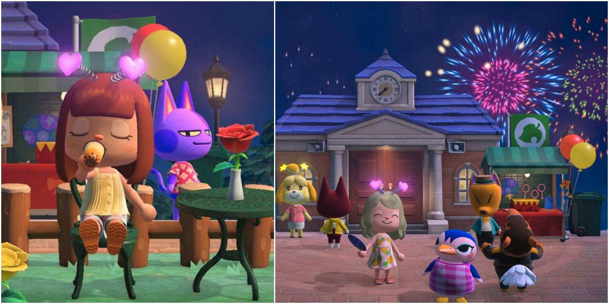 Animal Crossing: todo lo que necesita saber sobre el evento de fuegos artificiales de 2021
