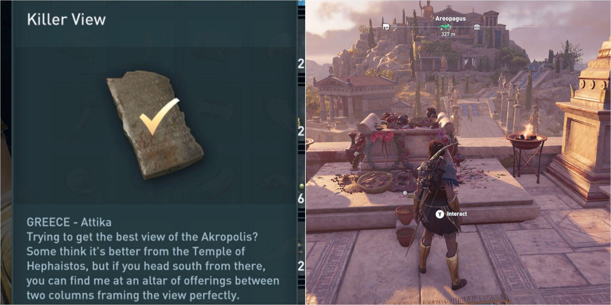 Assassin's Creed Odyssey: Cómo resolver el acertijo de Killer View