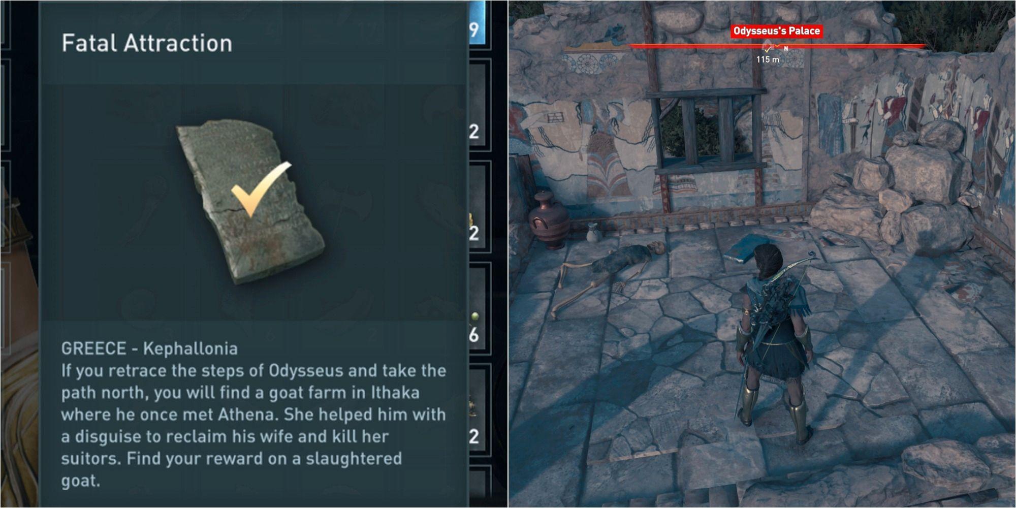 Assassin's Creed Odyssey: Cómo resolver el acertijo de la atracción fatal