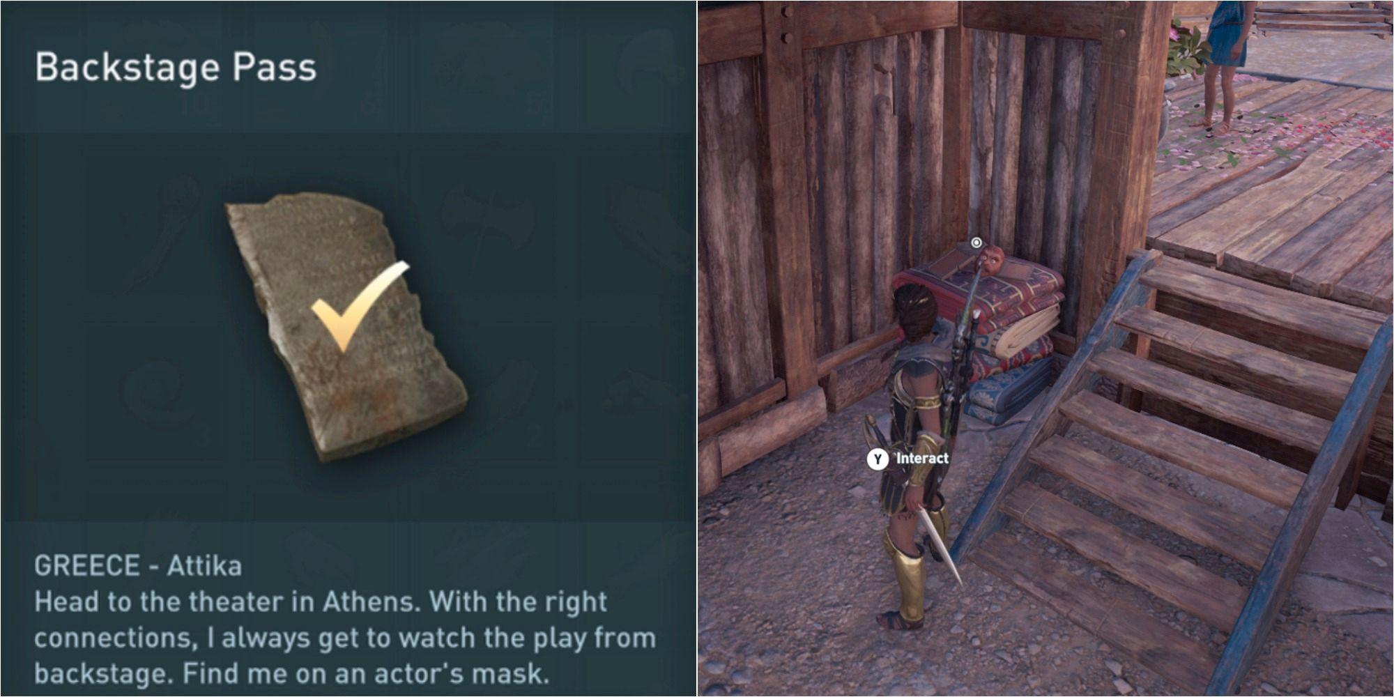 Assassin's Creed Odyssey: Cómo resolver el acertijo del pase entre bastidores