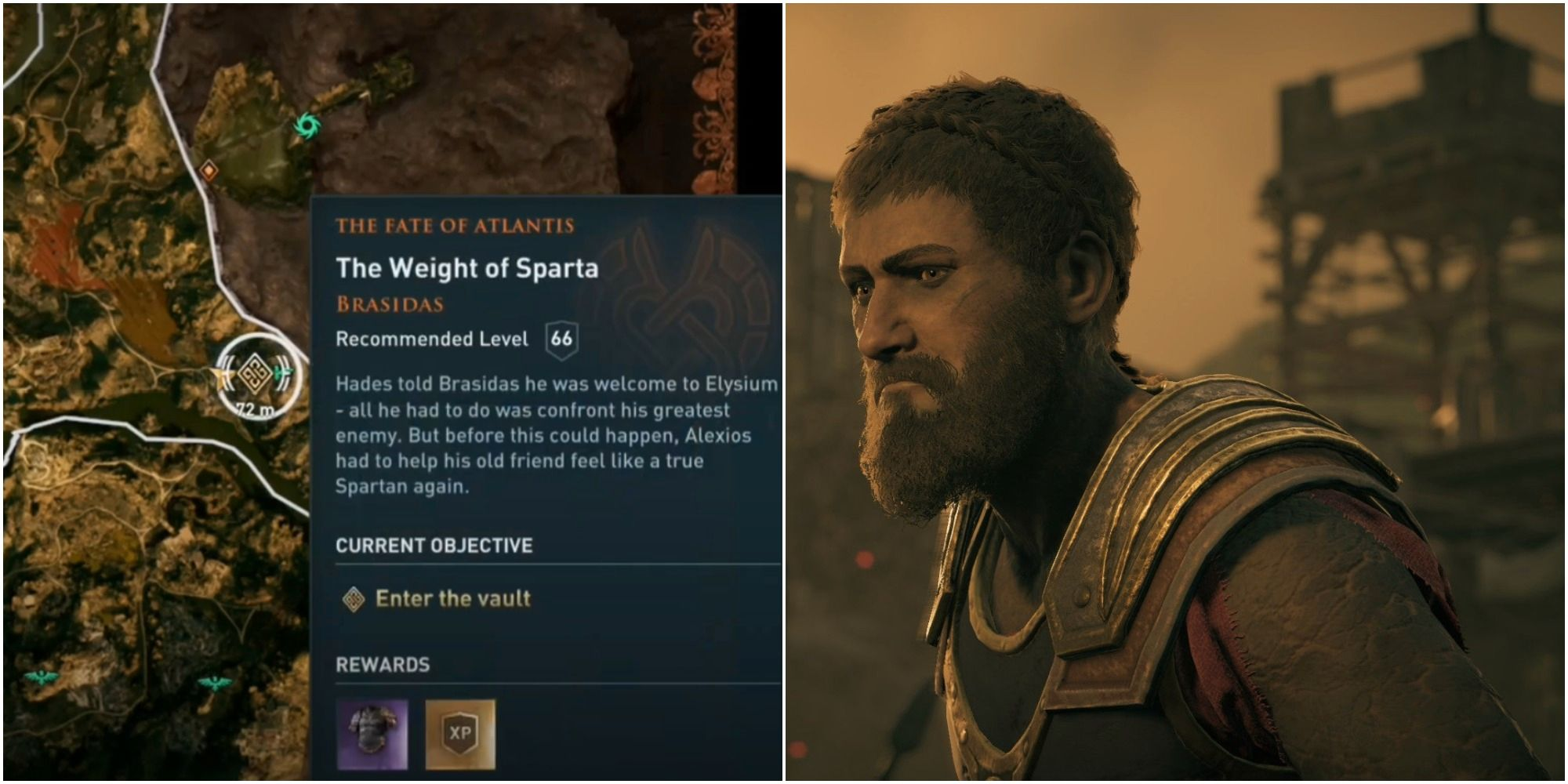 Assassin's Creed Odyssey: El destino de Atlantis The Weight of Sparta Quest Tutorial