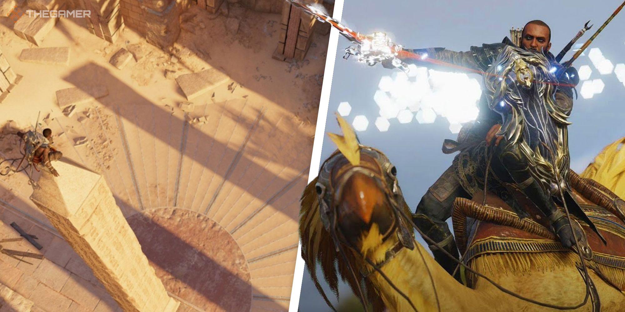 Assassin's Creed Origins: Cómo resolver el rompecabezas del reloj de sol