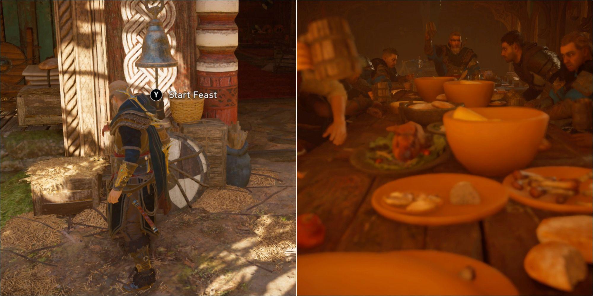 Assassin's Creed Valhalla: Cómo convocar una fiesta