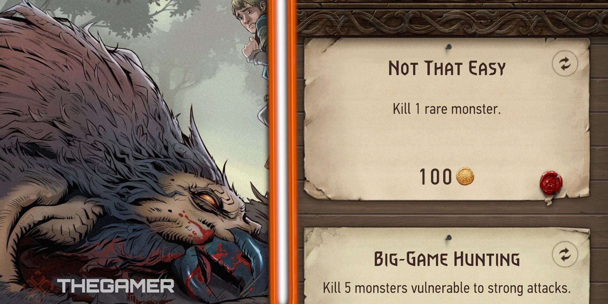 Cómo ganar monedas en The Witcher Monster Slayer