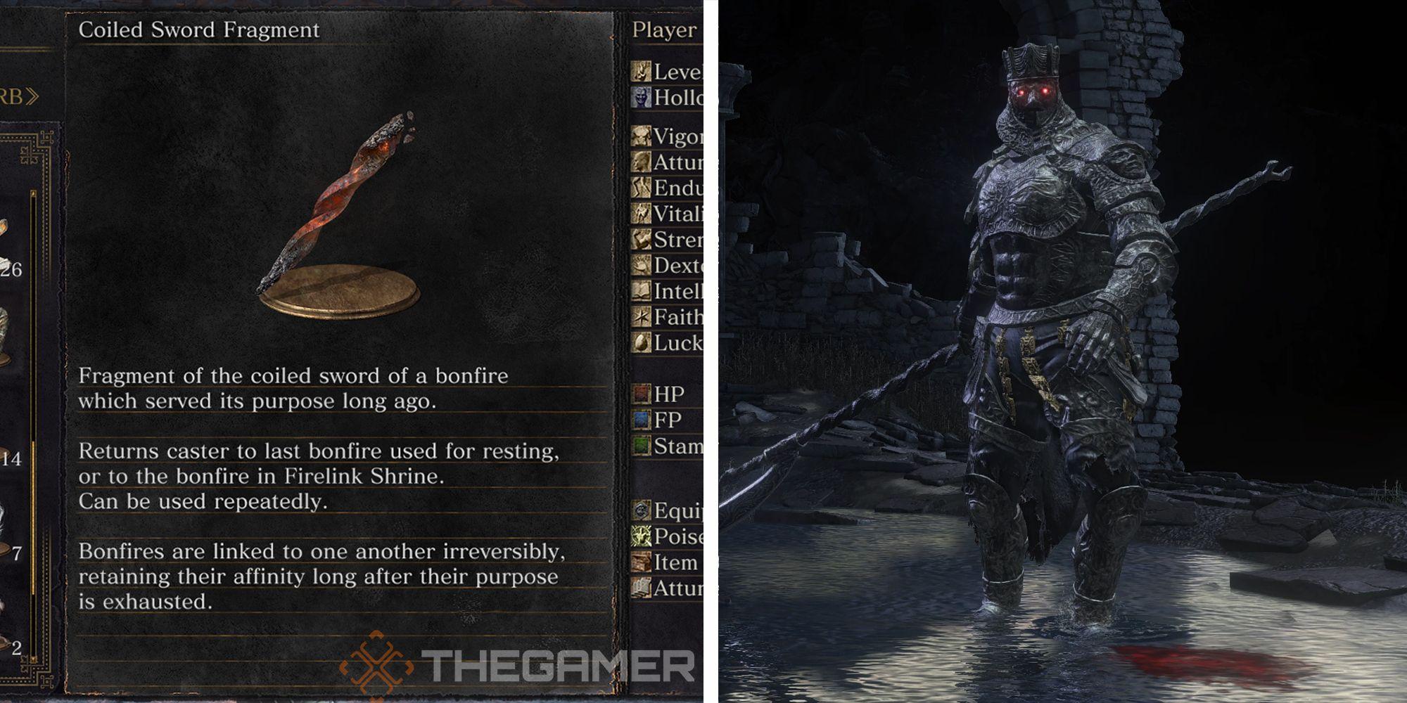 Dark Souls 3: Cómo encontrar el fragmento de espada enrollada