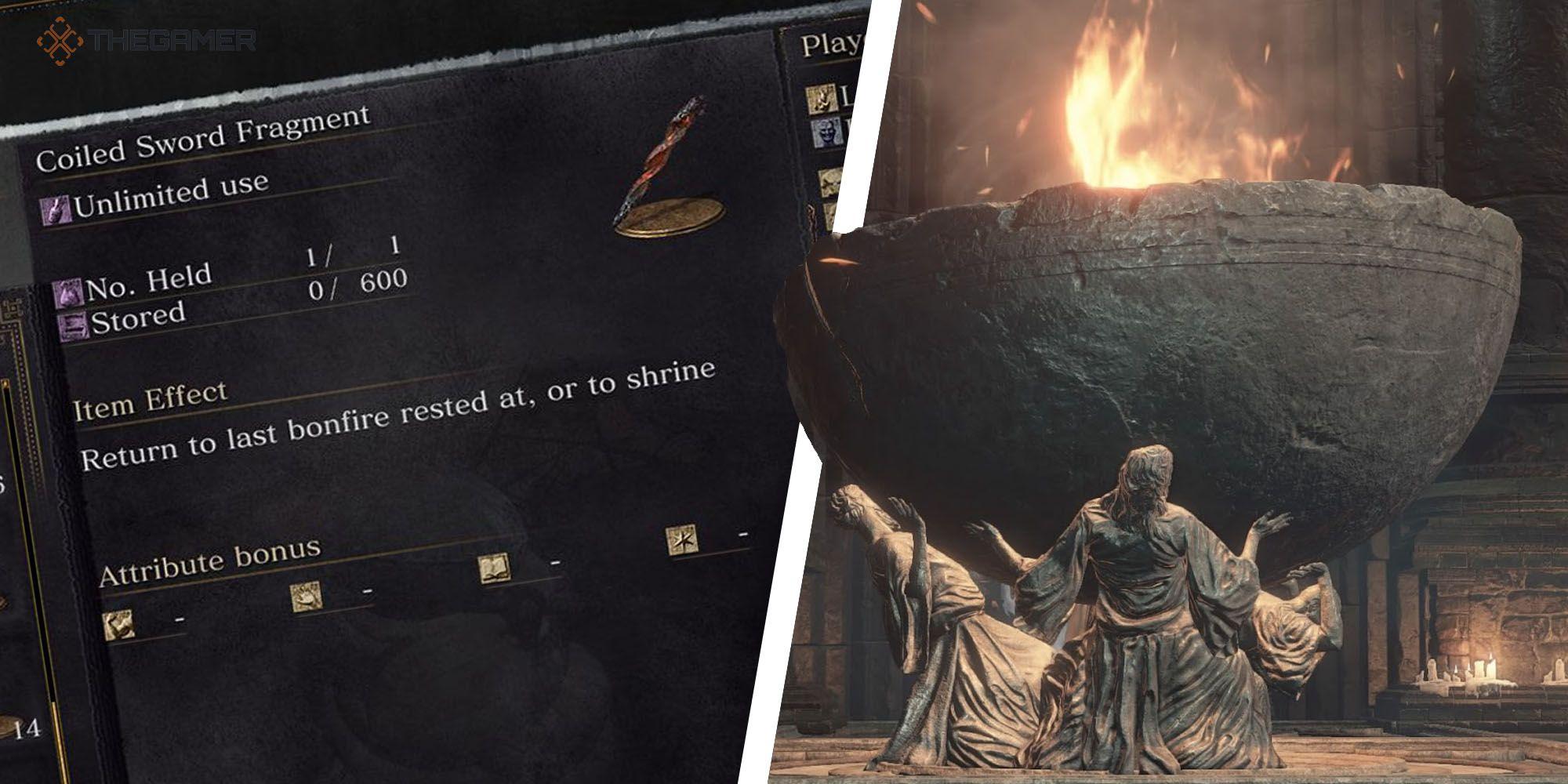 Dark Souls 3: todas las ubicaciones de losas de titanio