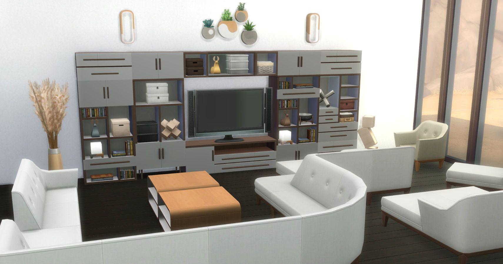 Decorador de casas de ensueño de Los Sims 4: una guía completa de muebles modulares