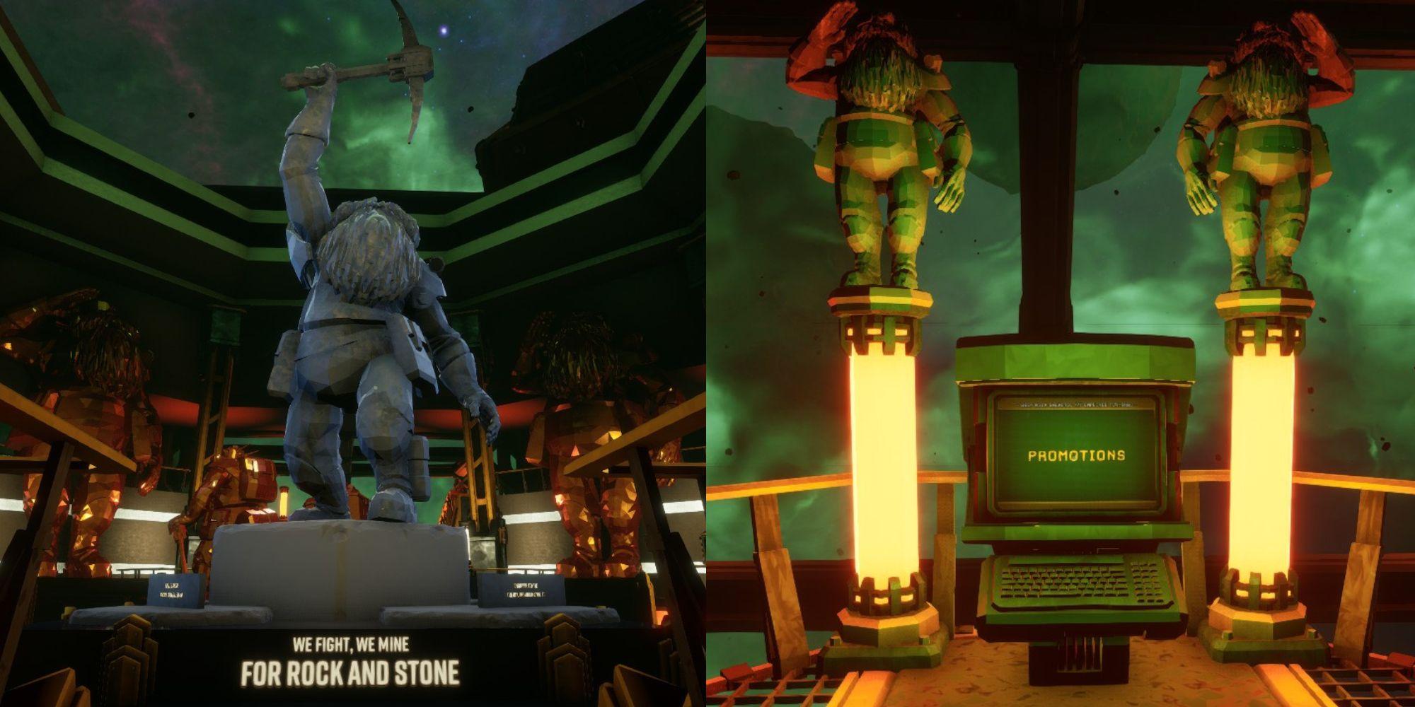 Deep Rock Galactic: Cómo promocionar tu personaje