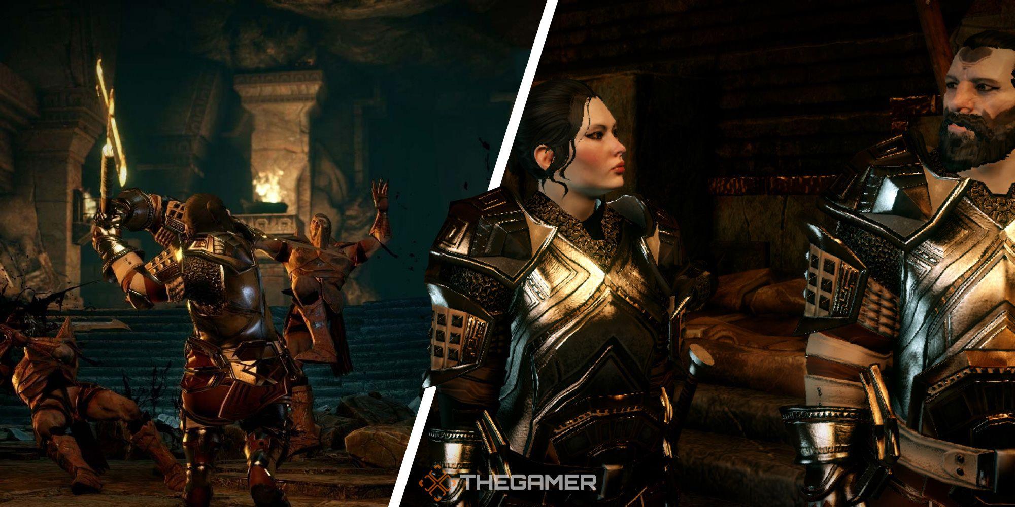 Dragon Age Inquisition - Tutorial de Gate of Segrummar Quest protegido por runas