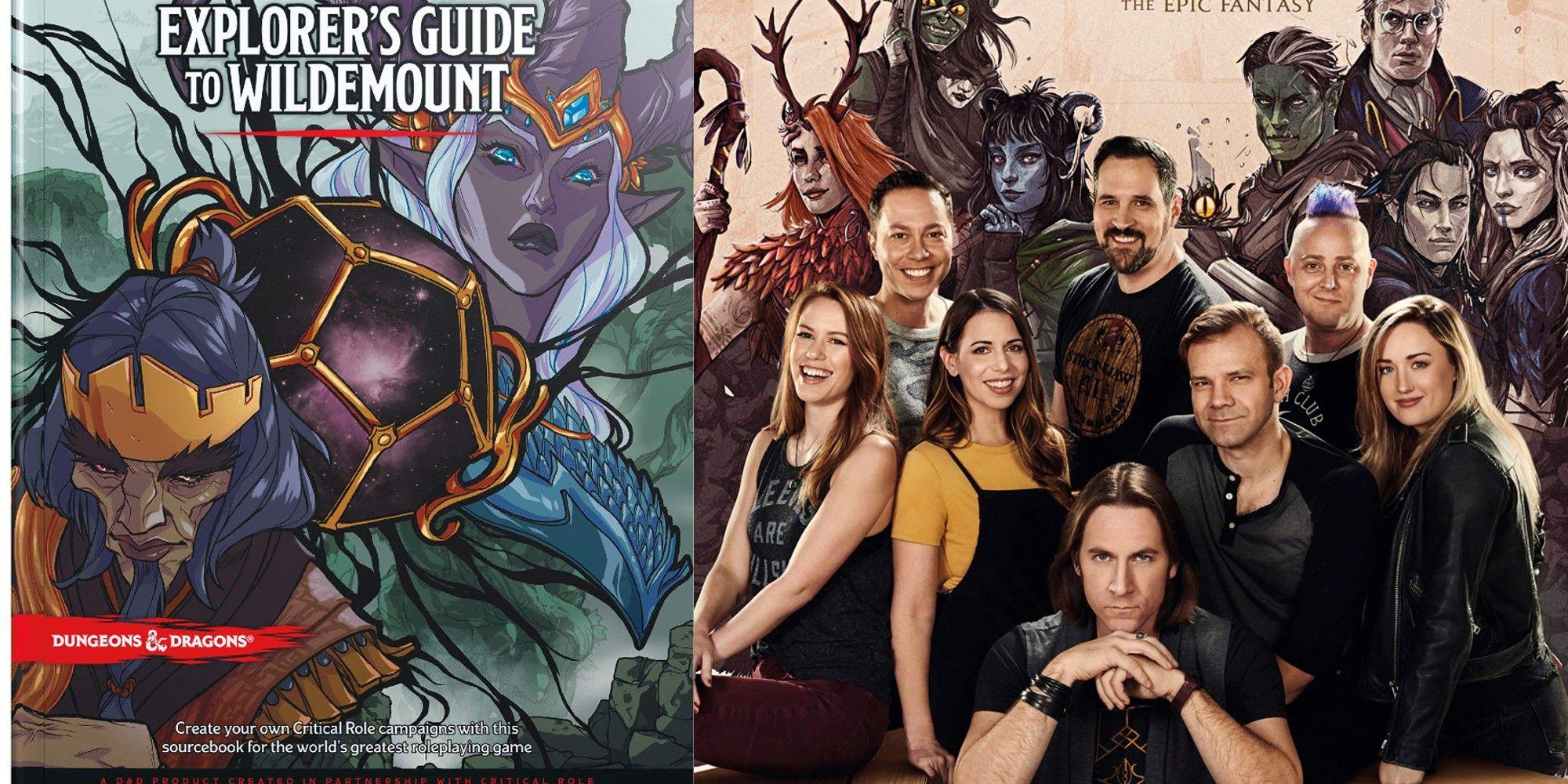 Dungeons & Dragons: 5 cosas que debes saber sobre la guía del explorador de Wildemount