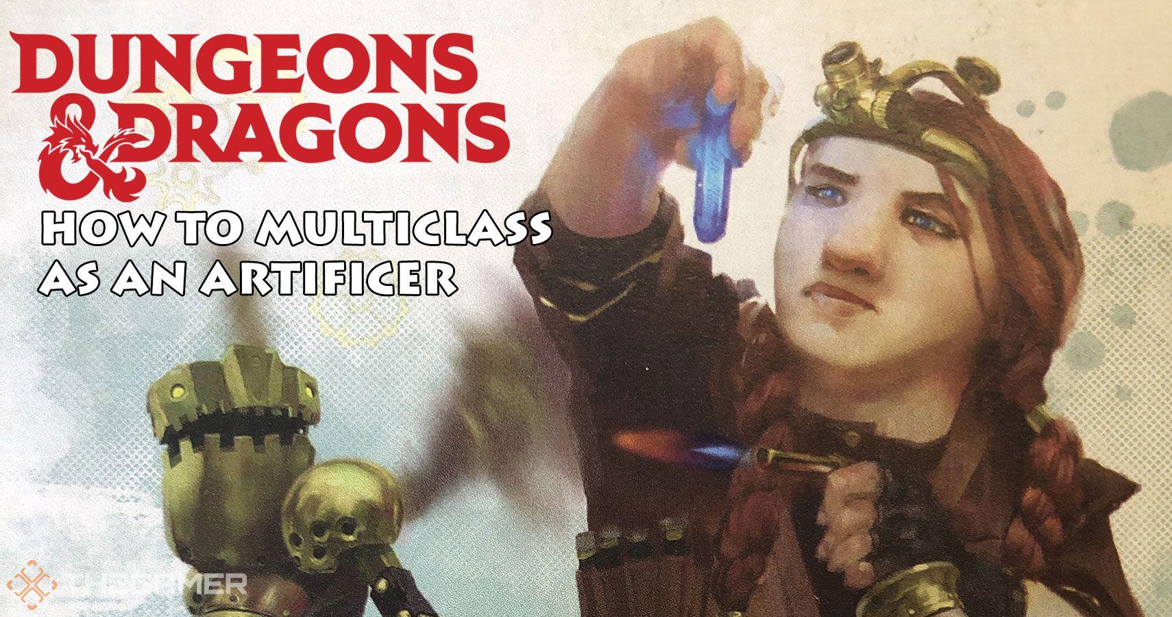 Dungeons & Dragons: Cómo hacer multiclase como artífice