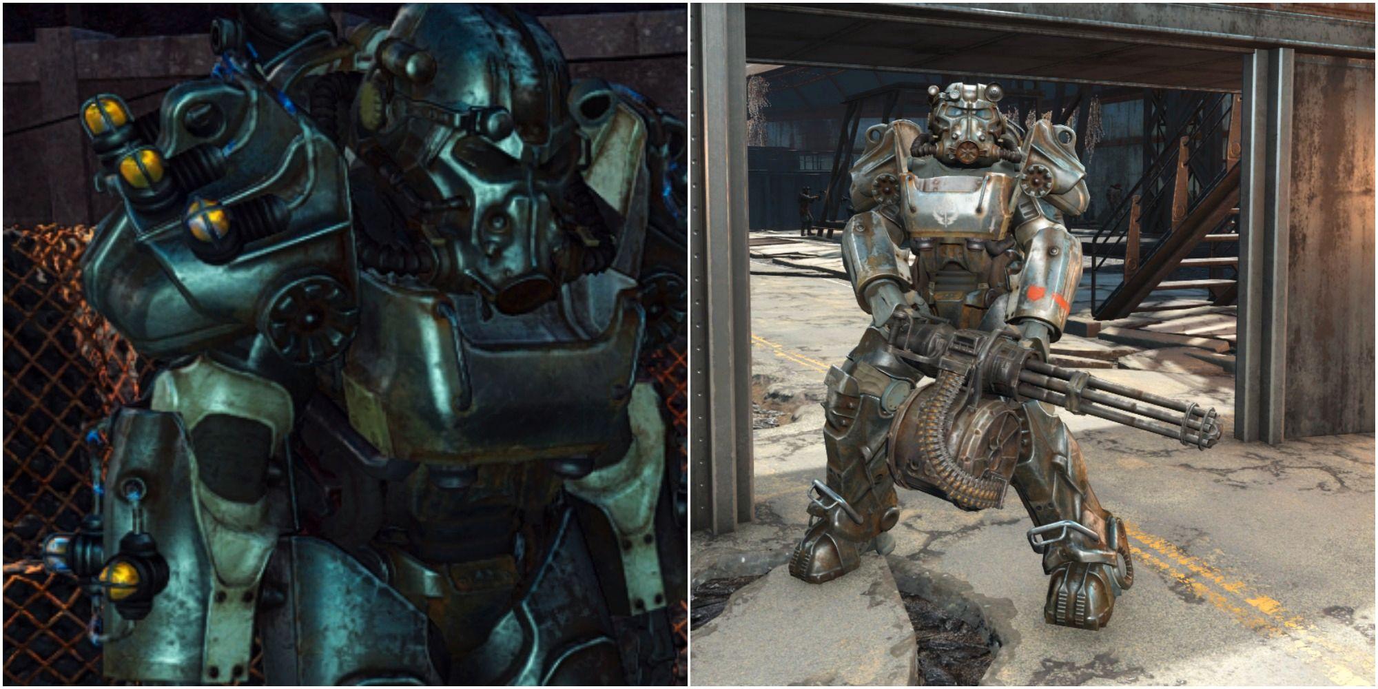 Fallout 4: Dónde encontrar la servoarmadura T-60