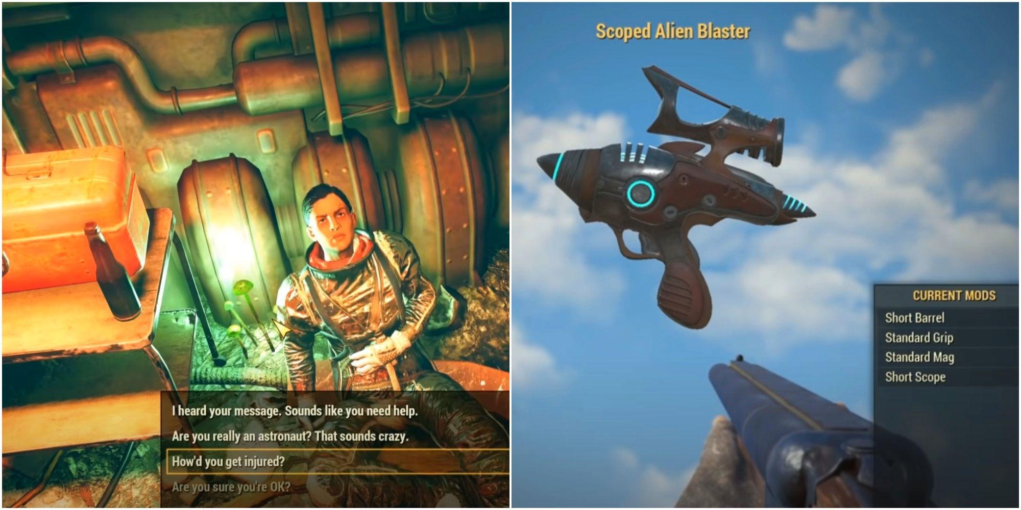 Fallout 76: Dónde conseguir el Alien Blaster
