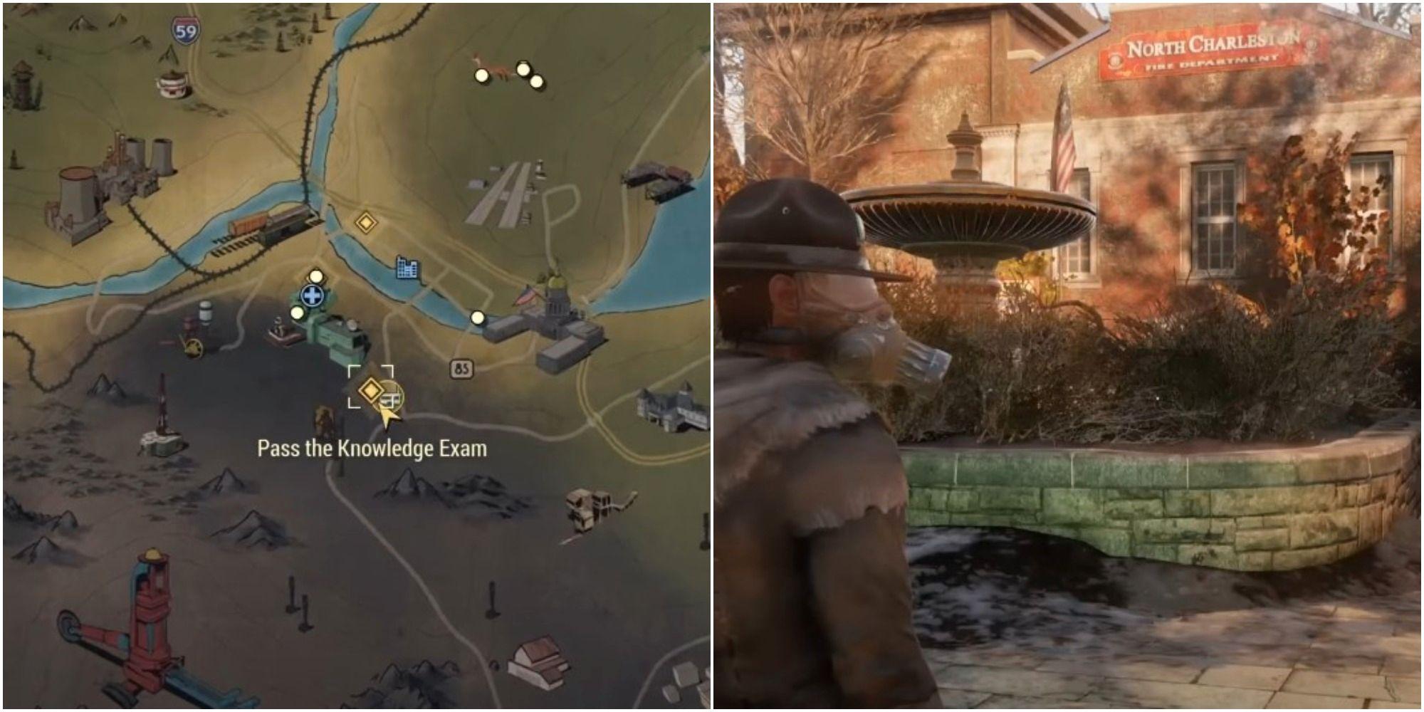 Fallout 76: Into The Fire Examen Respuestas