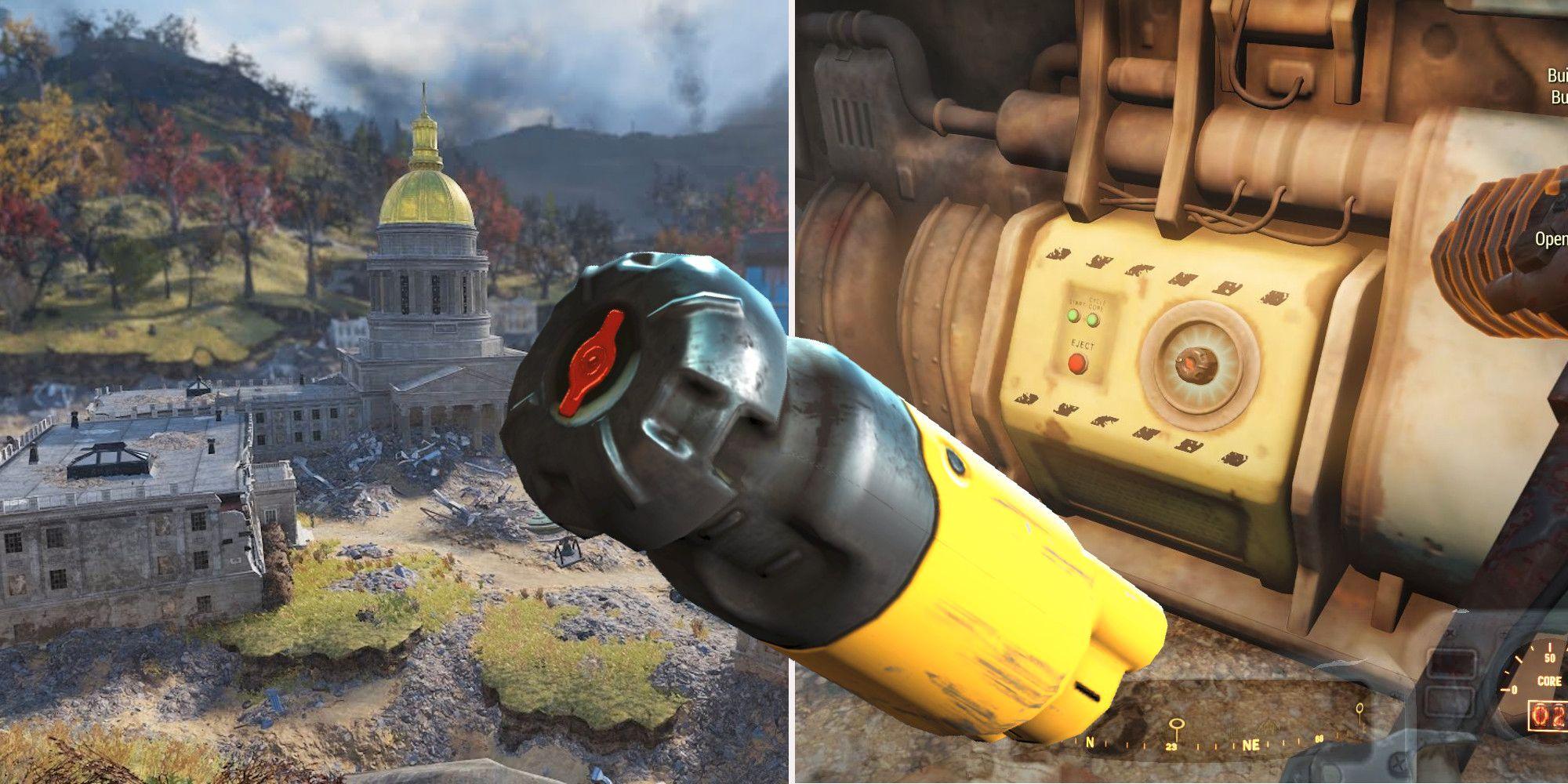Fallout 76: dónde conseguir núcleos de fusión