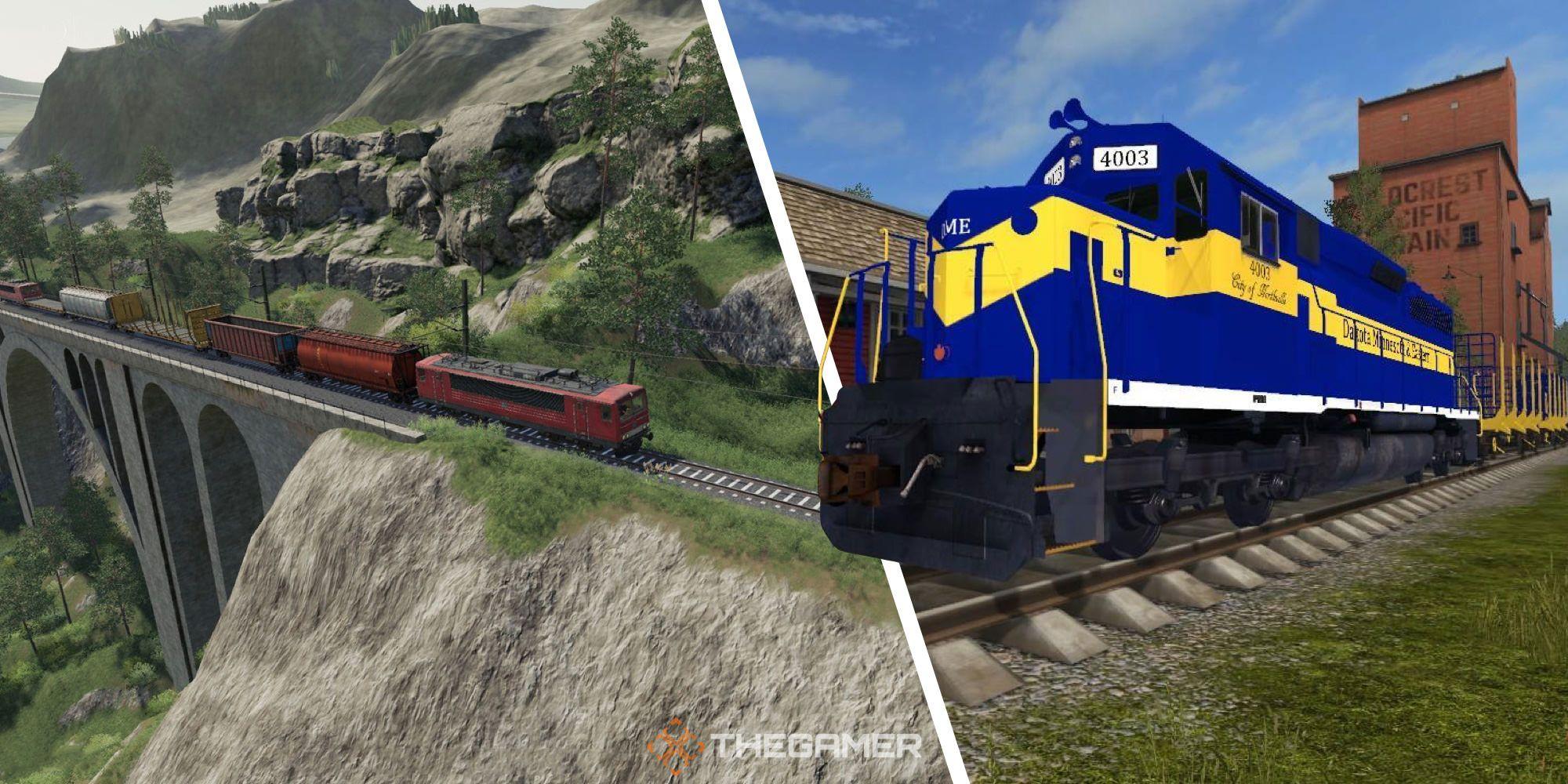 Farming Simulator 19: Cómo usar el tren