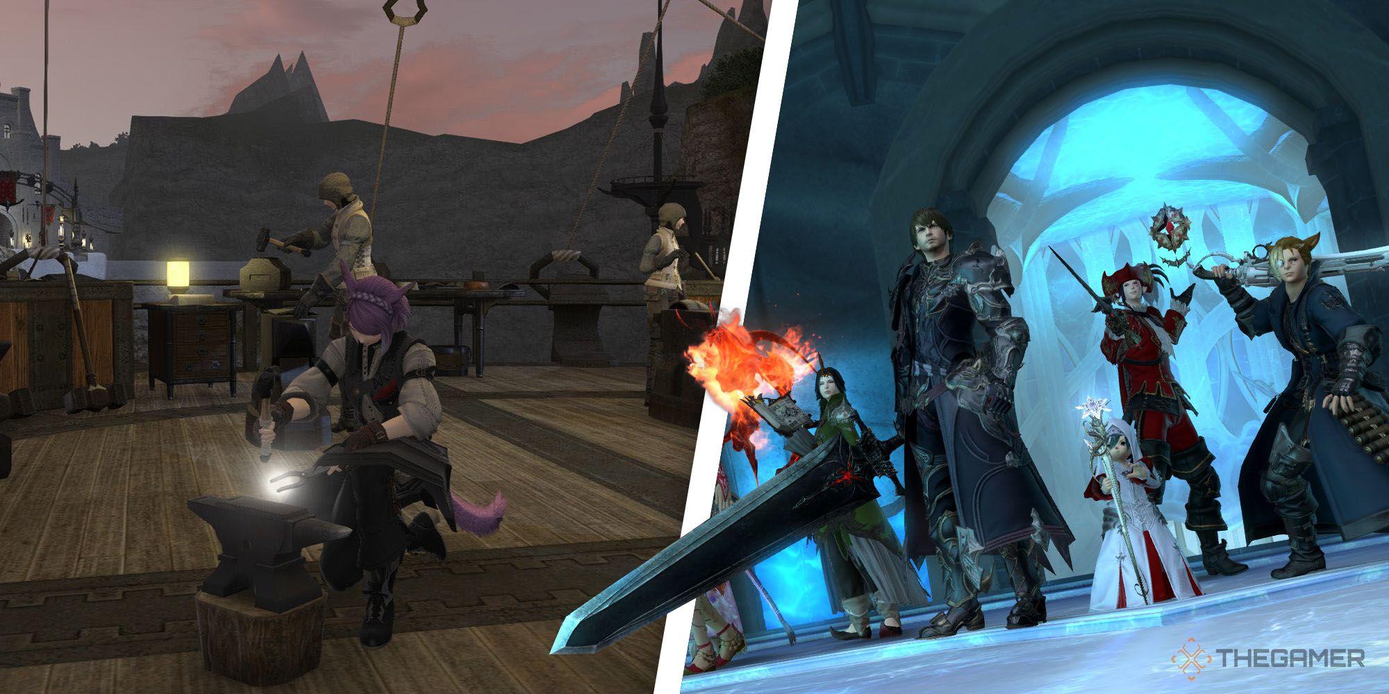 Final Fantasy 14: Cómo cambiar de clase