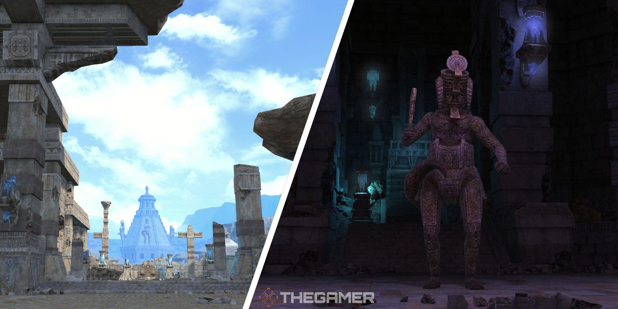 Final Fantasy 14: El templo hundido de Qarn Dungeon Guide
