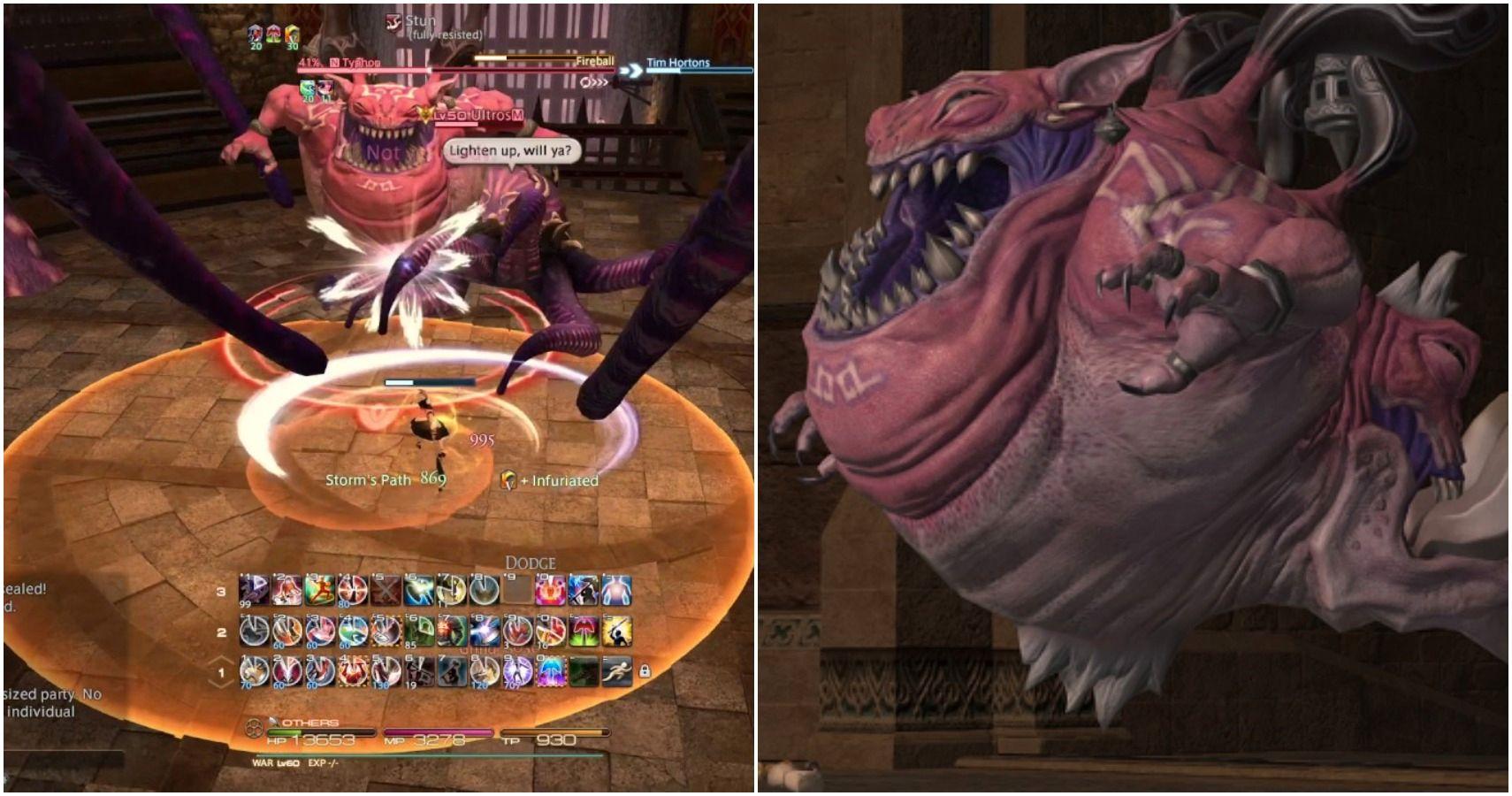 Final Fantasy 14: La guía del cuello del dragón