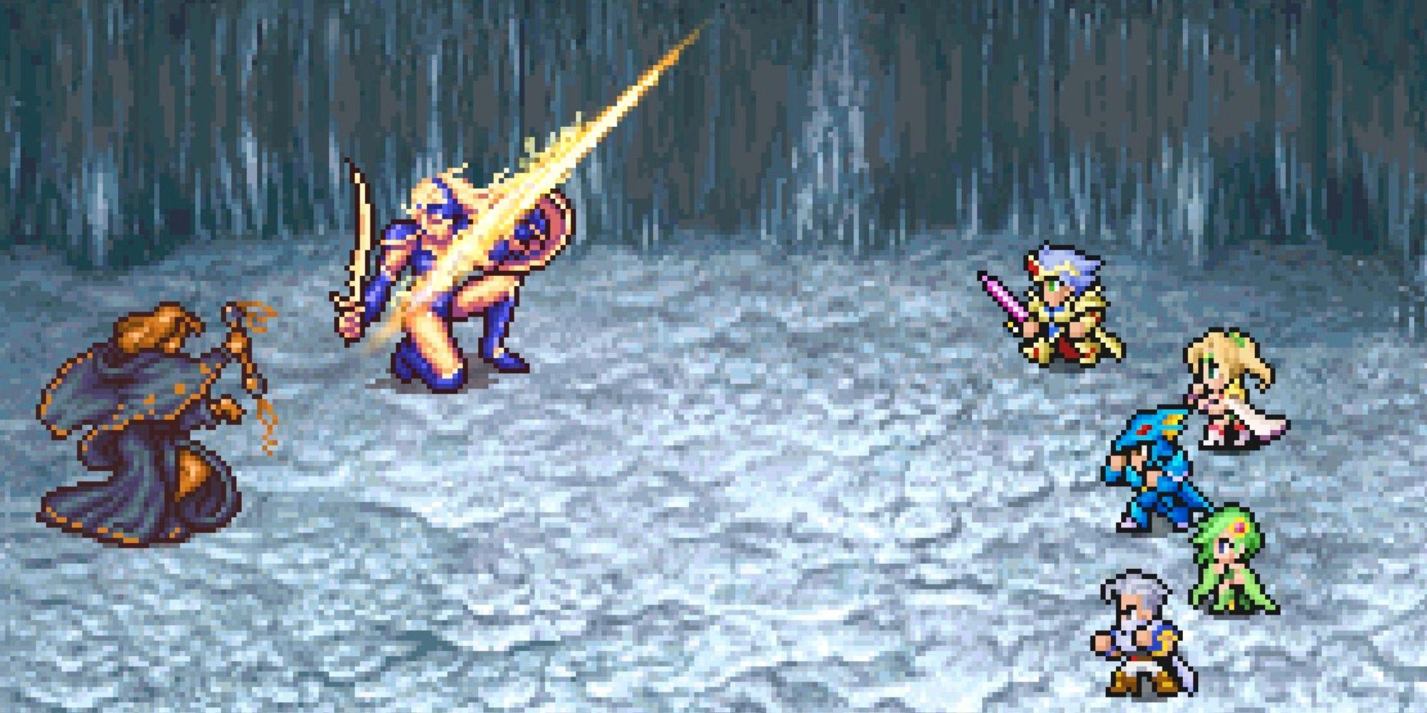 Final Fantasy 4 Pixel Remaster: Cómo obtener el Excalibur
