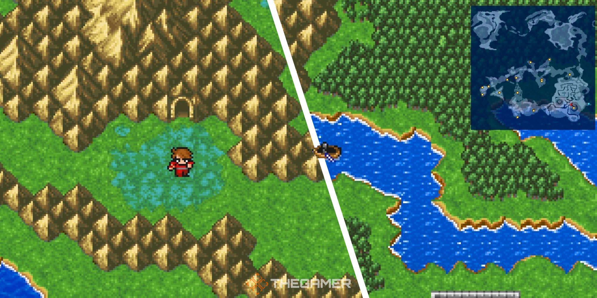 Final Fantasy Pixel Remaster: Cómo conseguir la canoa