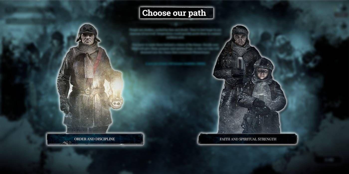 Frostpunk: Ruta del pedido vs.  Camino de la fe: ¿cuál debería elegir?