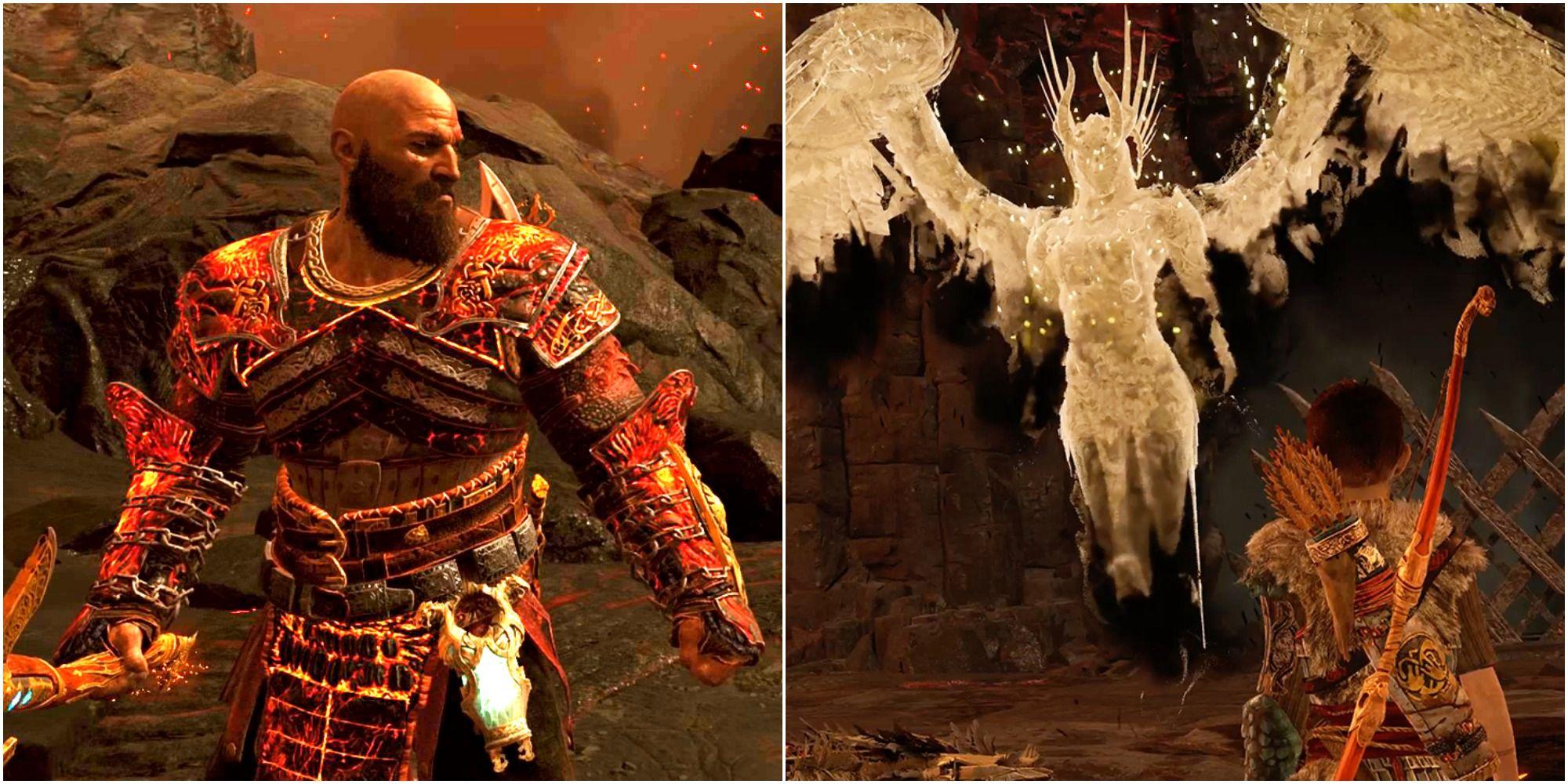 God Of War: Dónde encontrar brasas humeantes