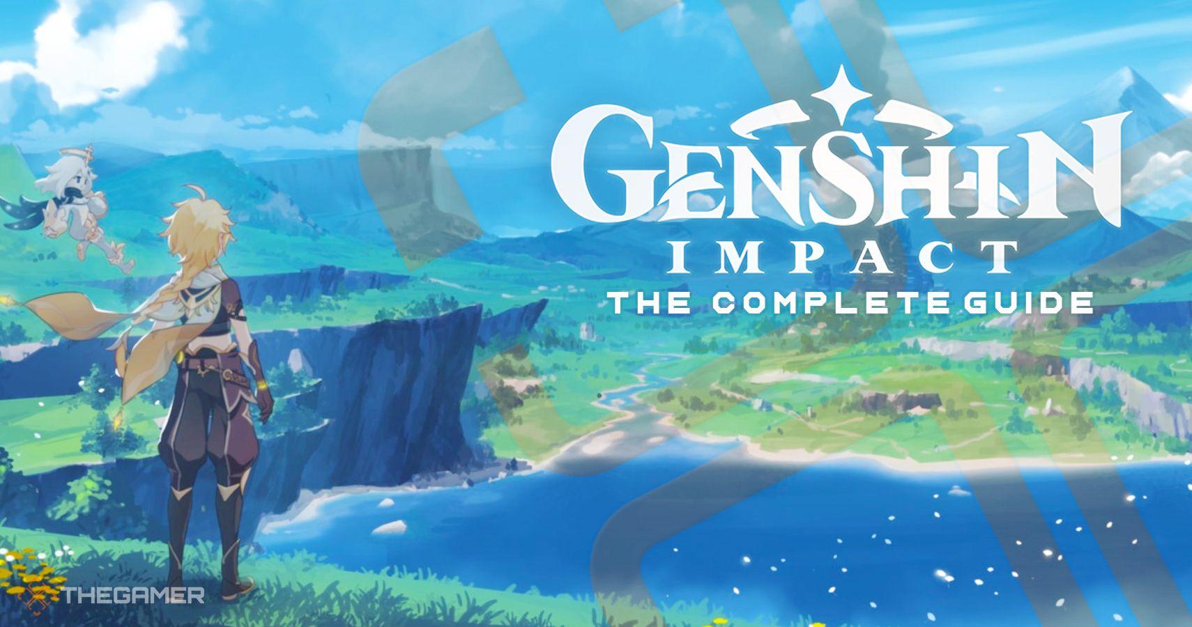 Guía completa y tutorial de Genshin Impact