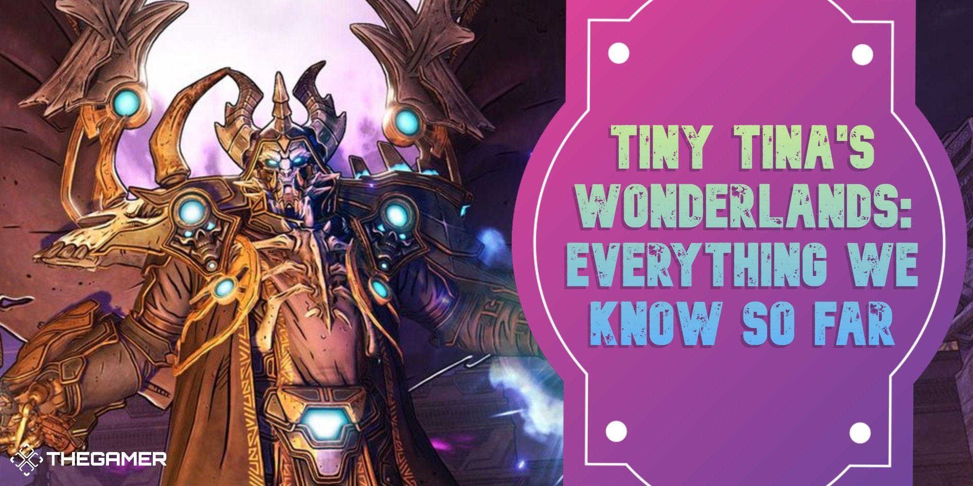 Guía de Tiny Tina's Wonderlands: todo lo que sabemos hasta ahora