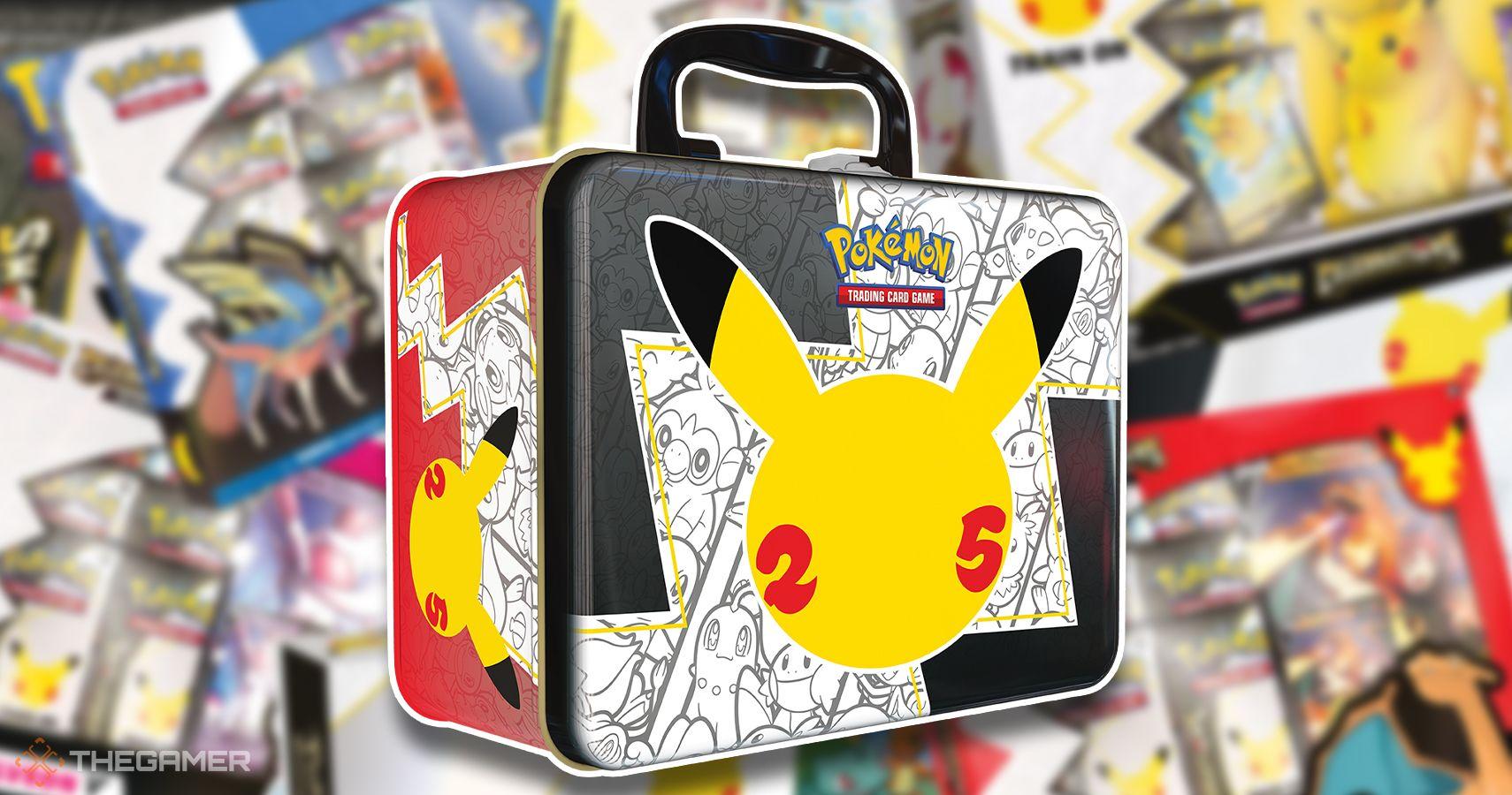 Guía de productos de las celebraciones de Pokémon TCG: explicación de los productos del 25 aniversario