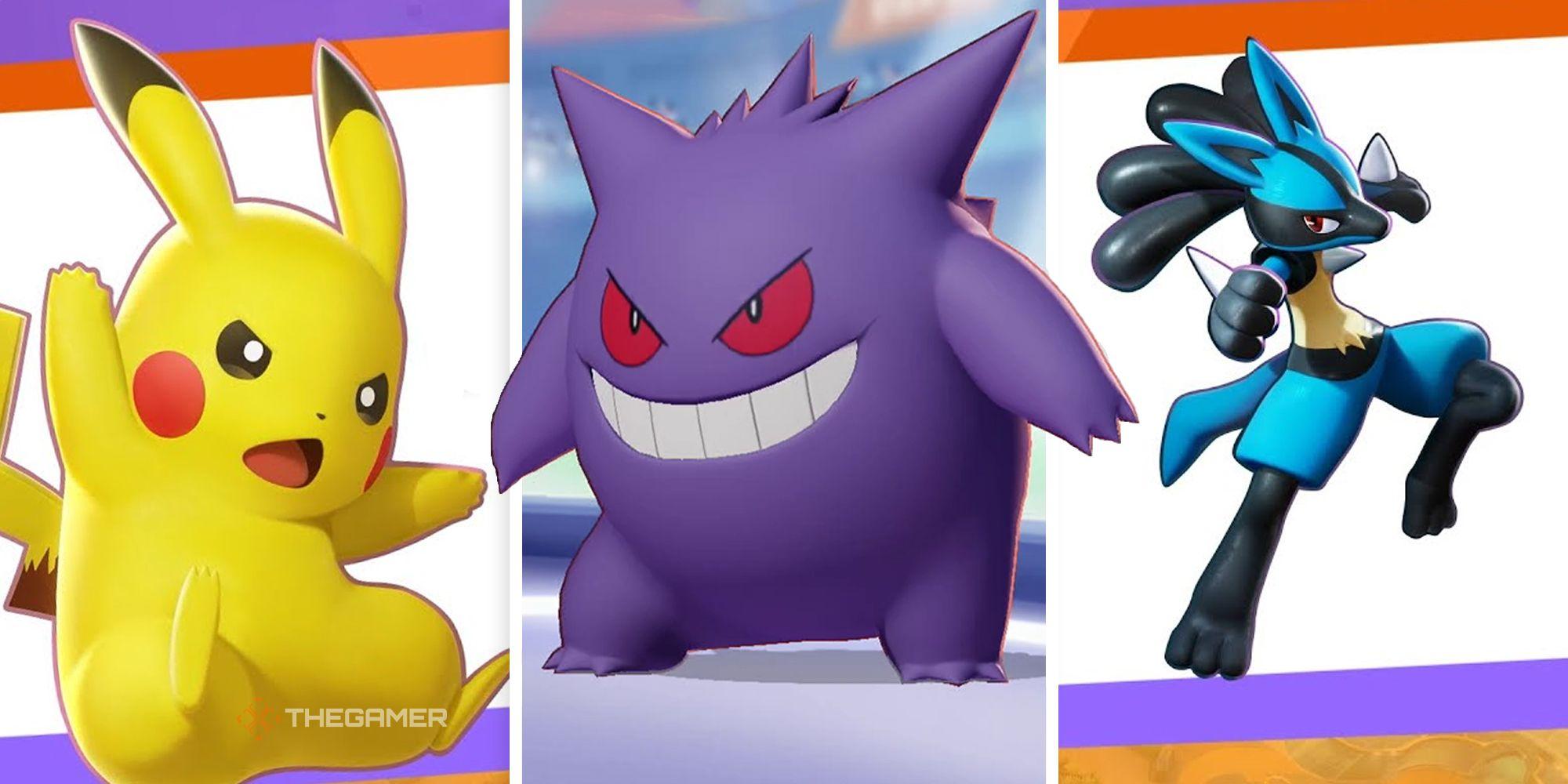 Guía de roles de Pokémon Unite