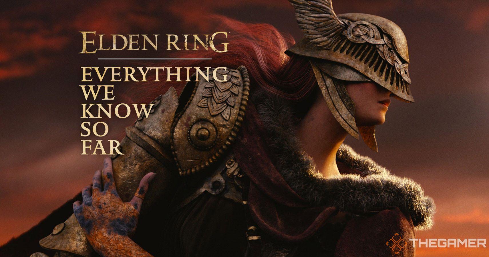 Guía del anillo de Elden: todo lo que sabemos hasta ahora