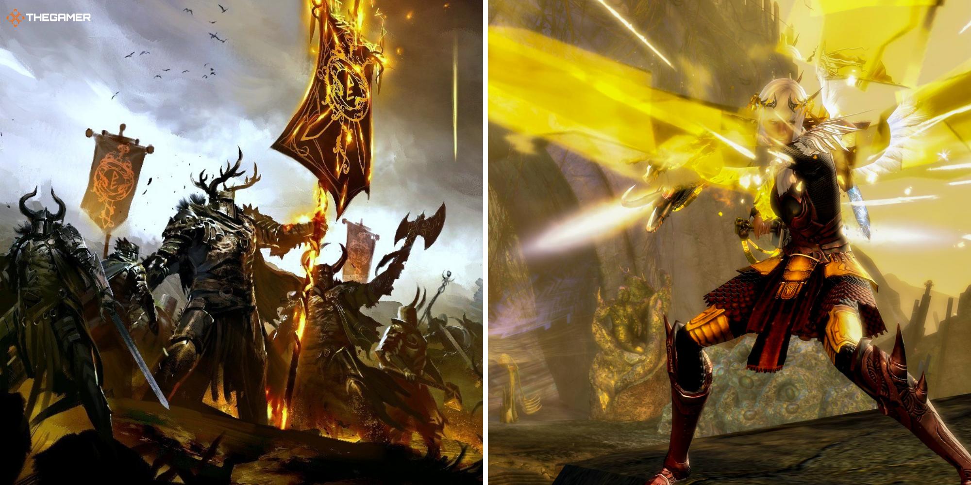 Guild Wars 2: Cómo construir un guerrero pesado de daño