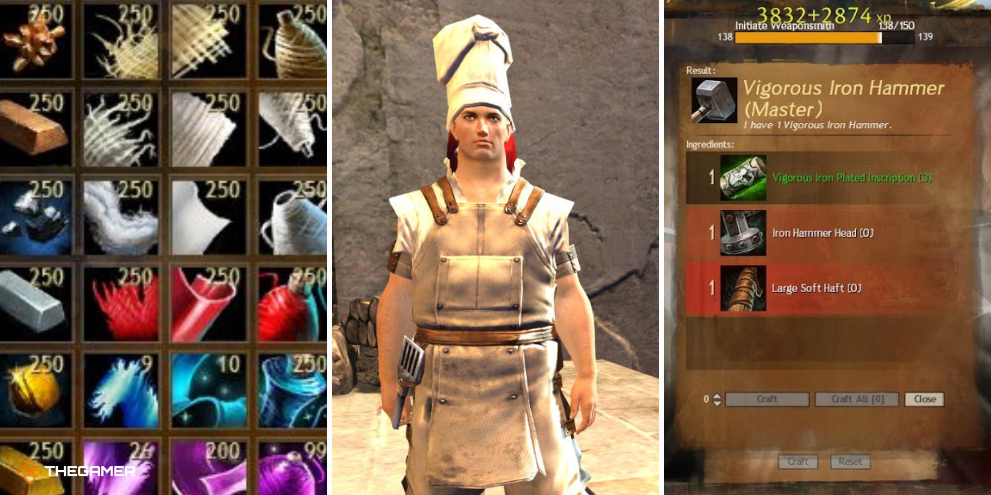 Guild Wars 2: una guía para principiantes sobre la artesanía