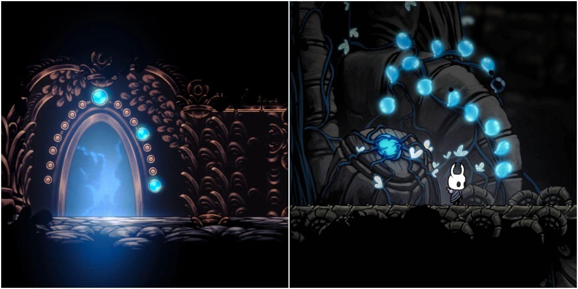 Hollow Knight: Cómo desbloquear ambas puertas de Lifeblood