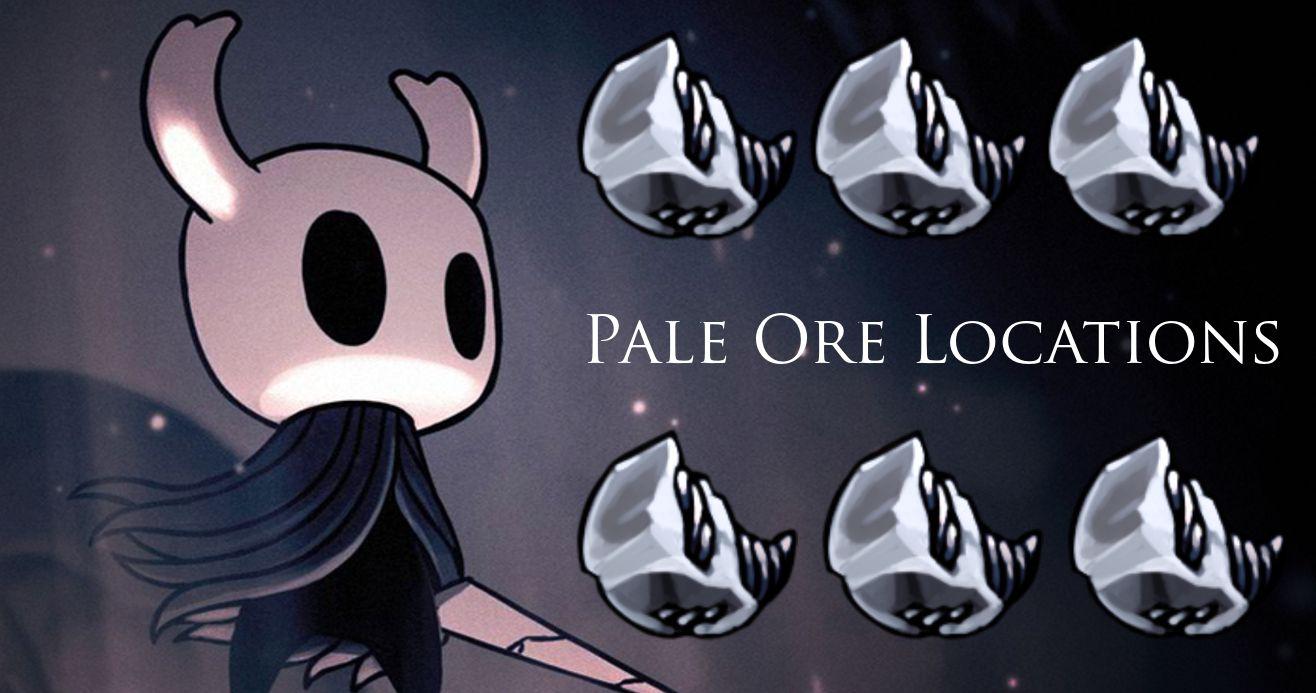 Hollow Knight: Guía de ubicación de Pale Ore