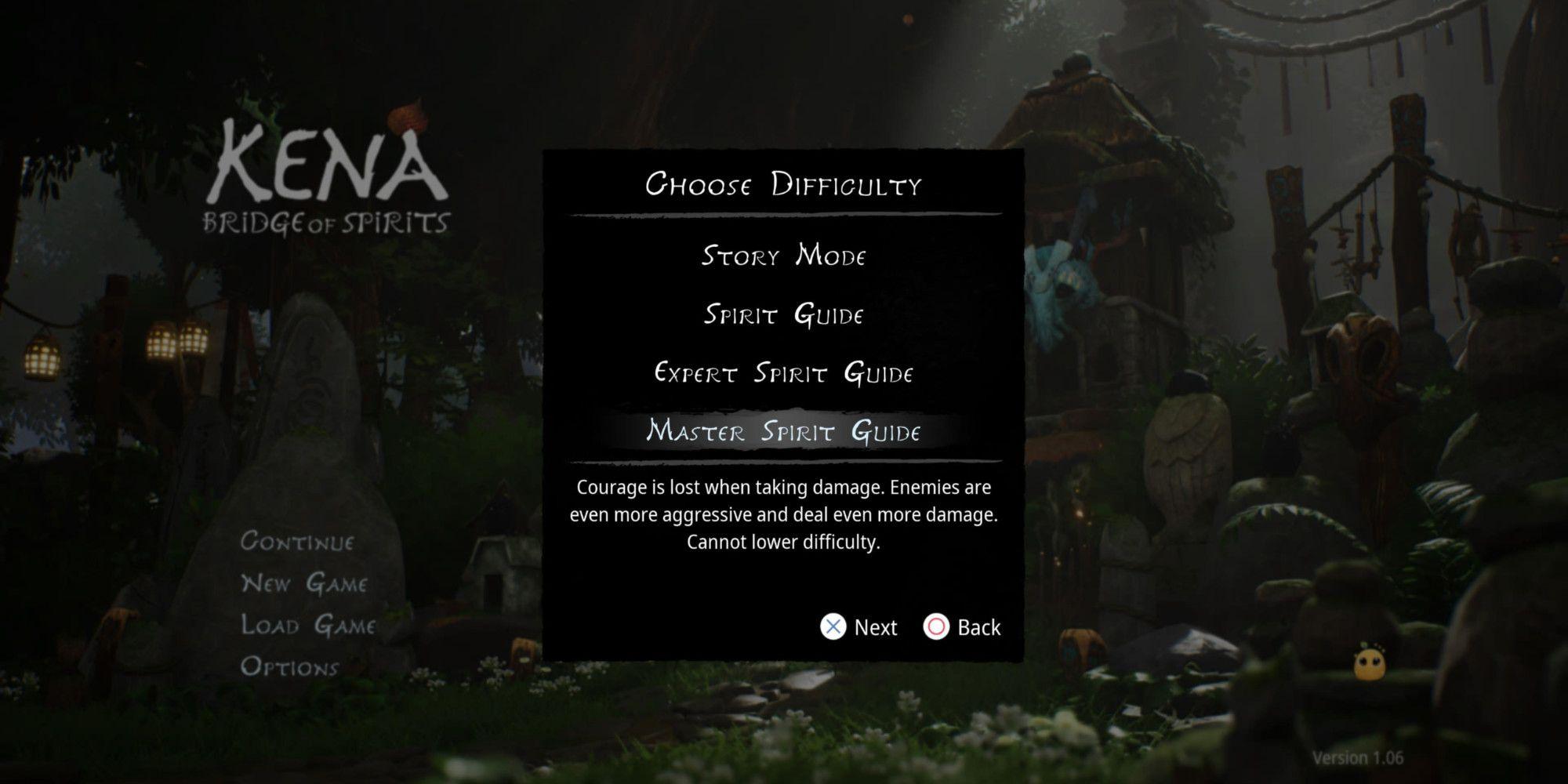Kena: Bridge Of Spirits - Cómo desbloquear la dificultad de Master Spirit Guide