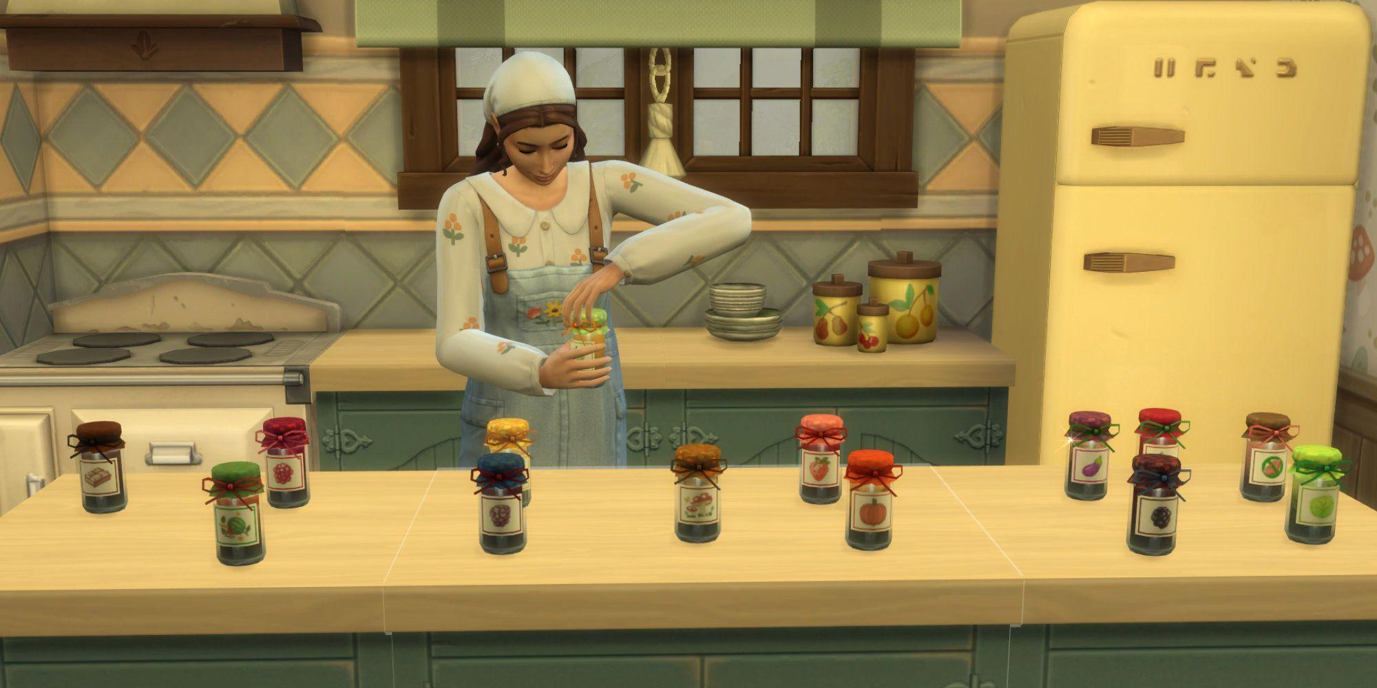 Los Sims 4 Cottage Living: Cómo nivelar la nueva habilidad de enlatado