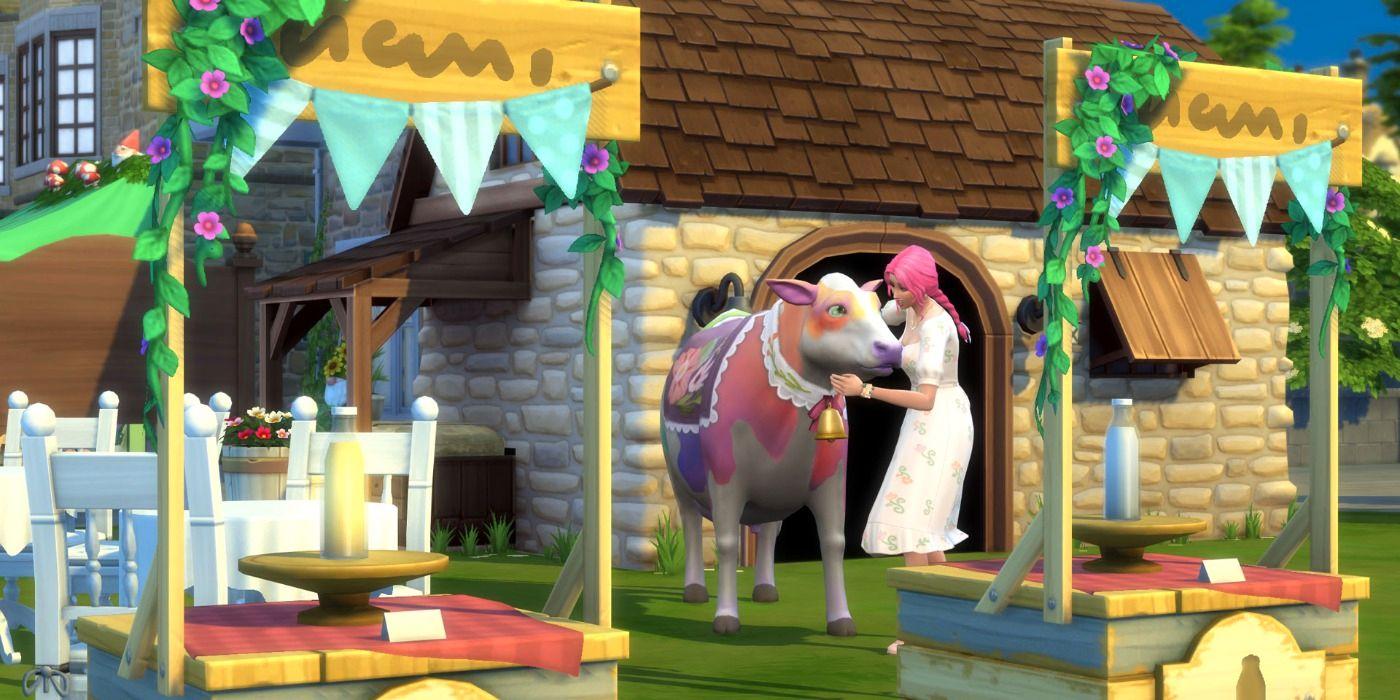 Los Sims 4 Vida en la cabaña: guía de la vida en el pueblo y las ferias del pueblo