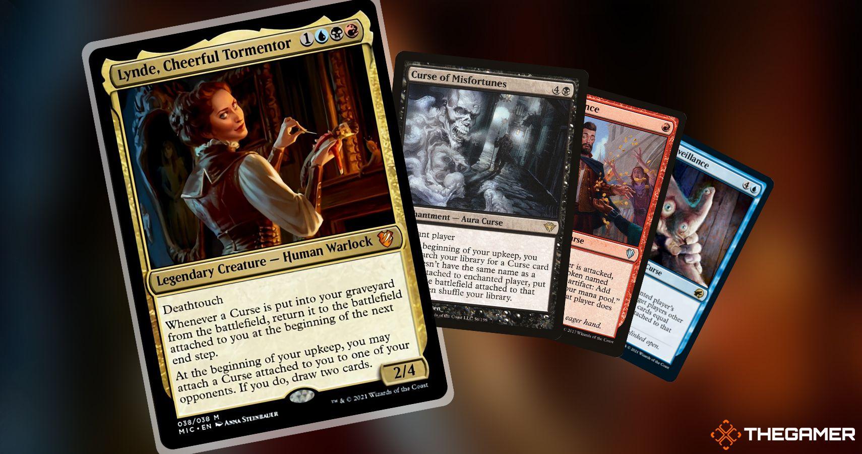 Magic The Gathering Commander Deck Brew: Pon una maldición sobre tus oponentes con Lynde, alegre torturador